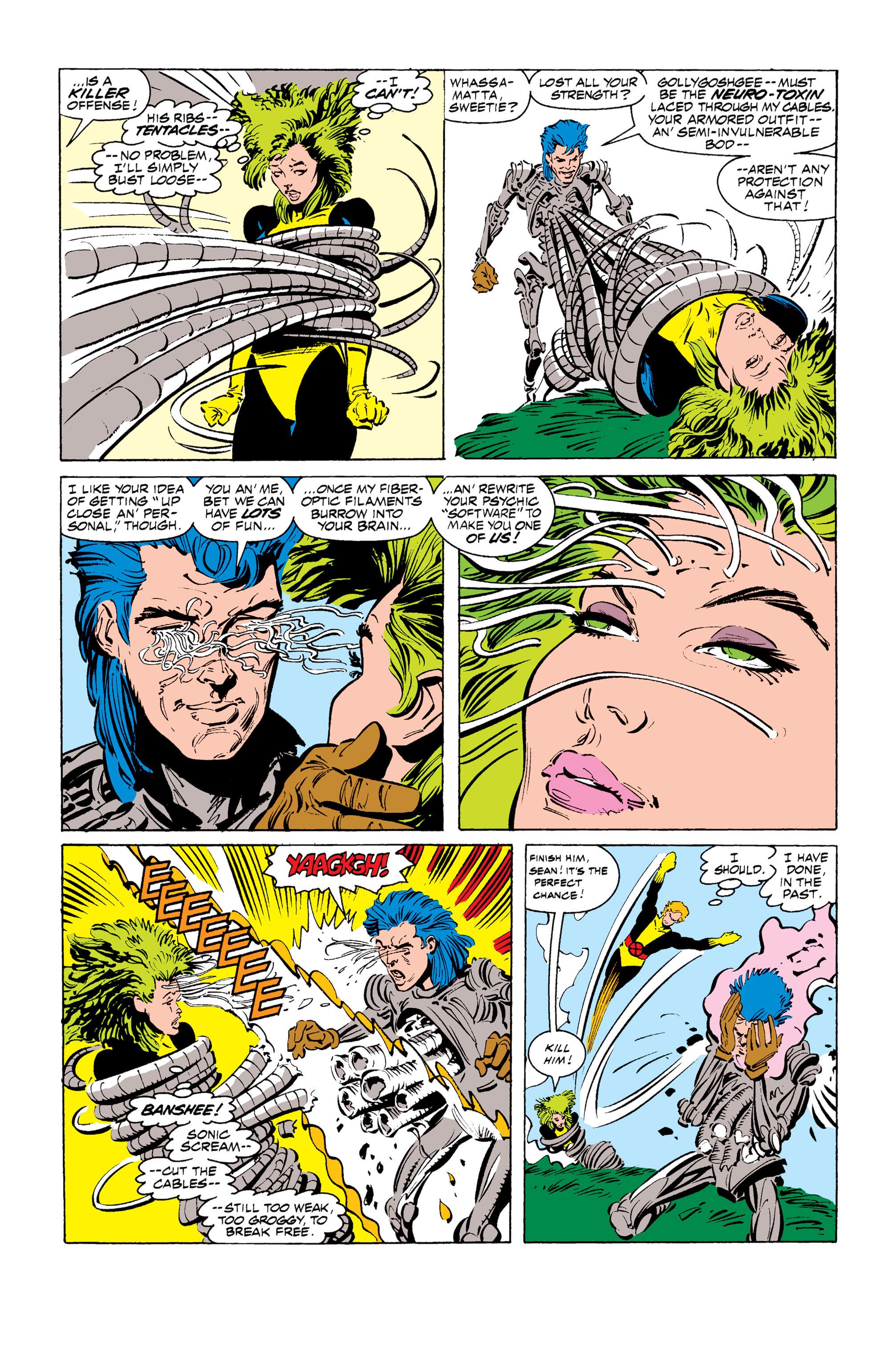 Read online Uncanny X-Men (1963) comic -  Issue #255 - 5