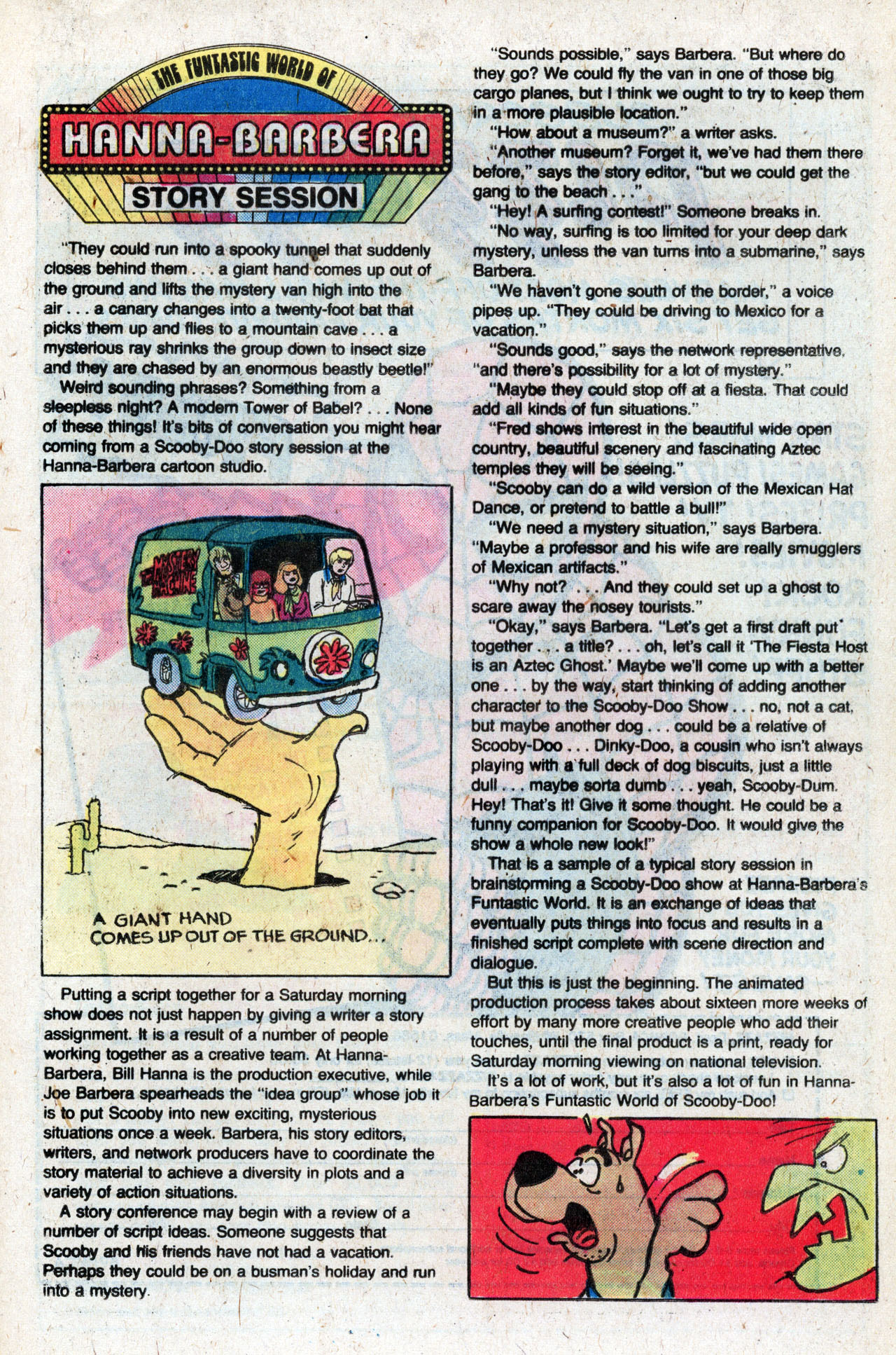 Read online Scooby-Doo (1977) comic -  Issue #9 - 21