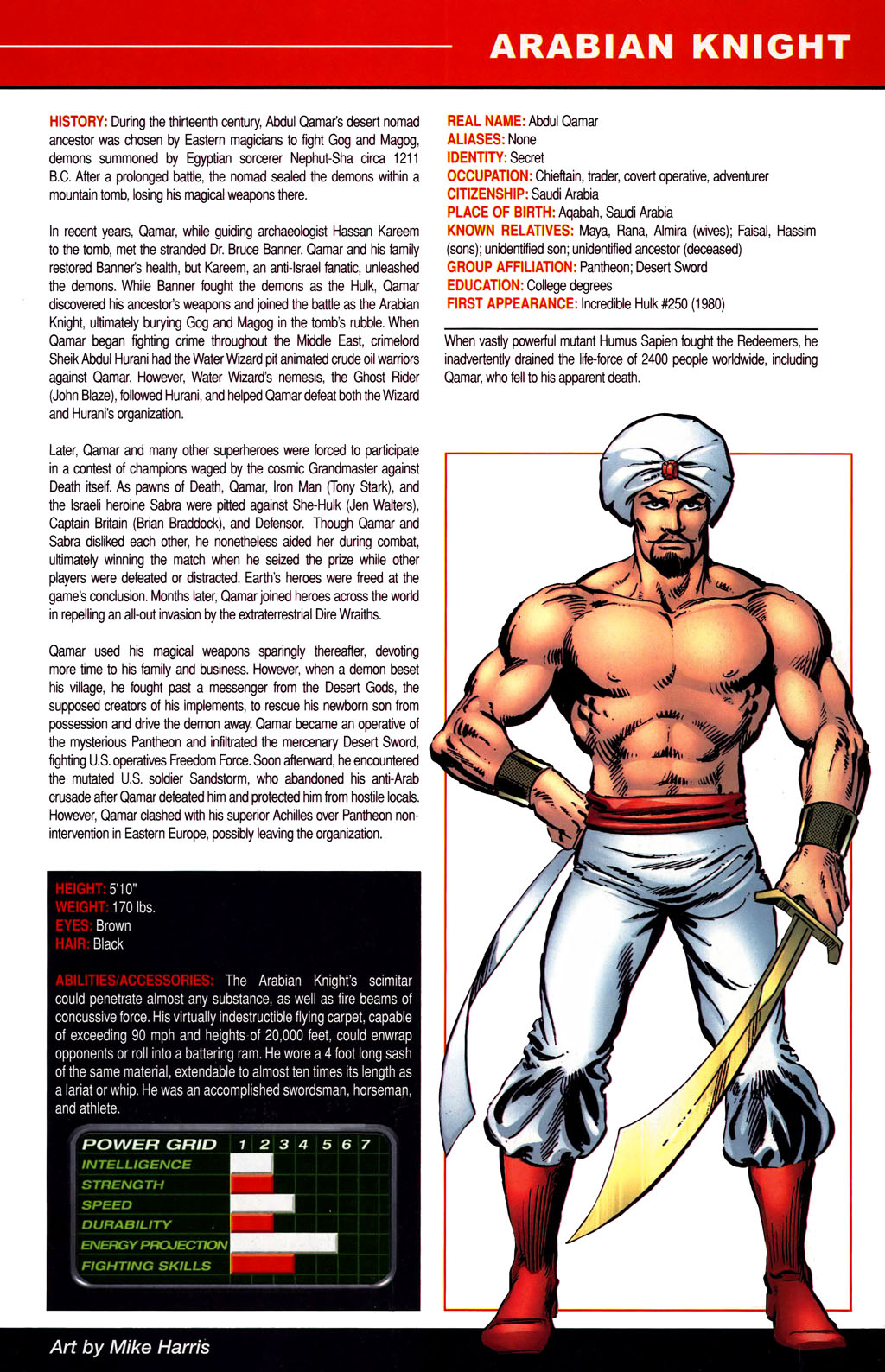 Read online All-New Official Handbook of the Marvel Universe A to Z comic -  Issue #1 - 27