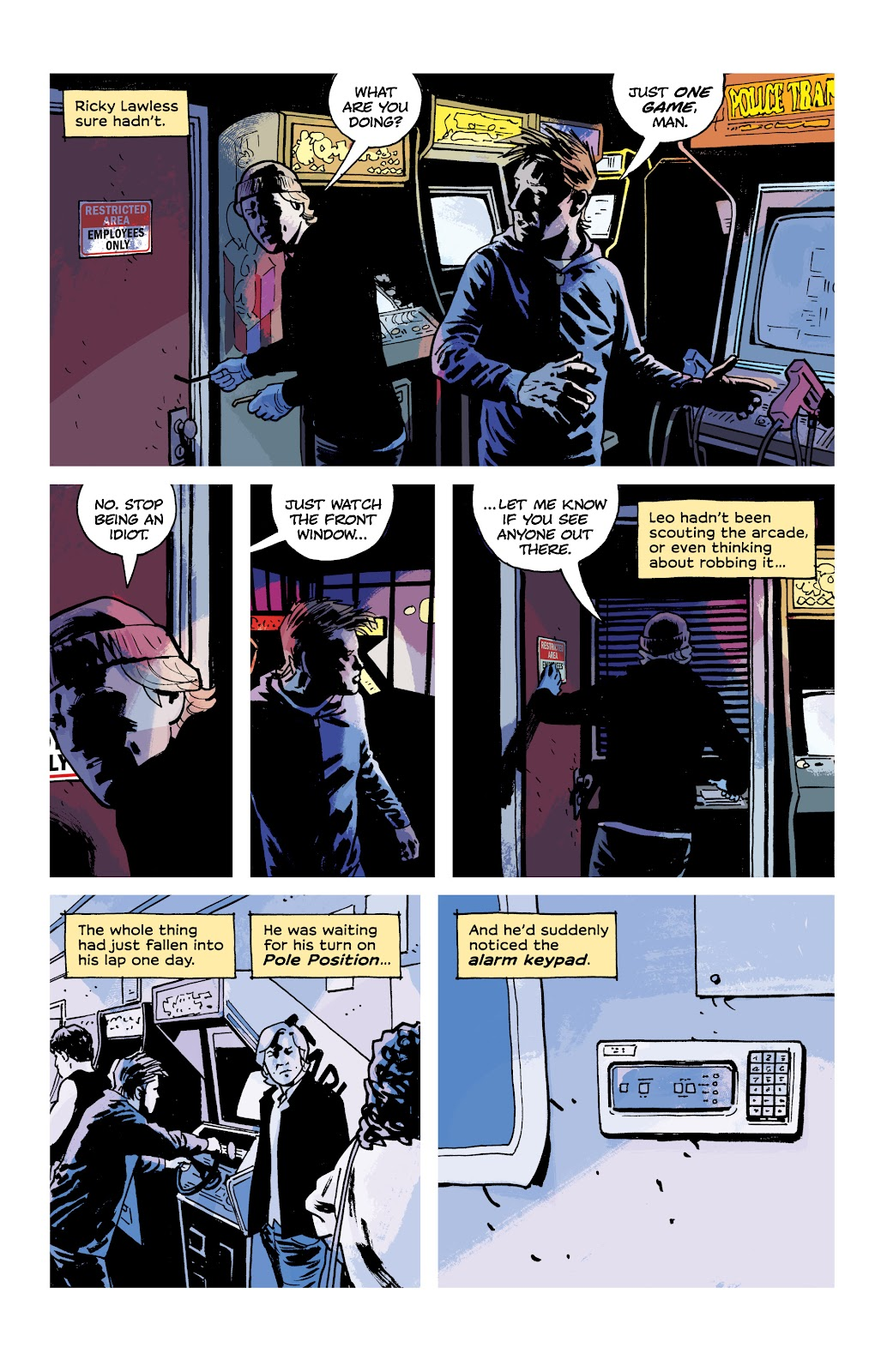 Read online Criminal (2019) comic -  Issue #9 - 14