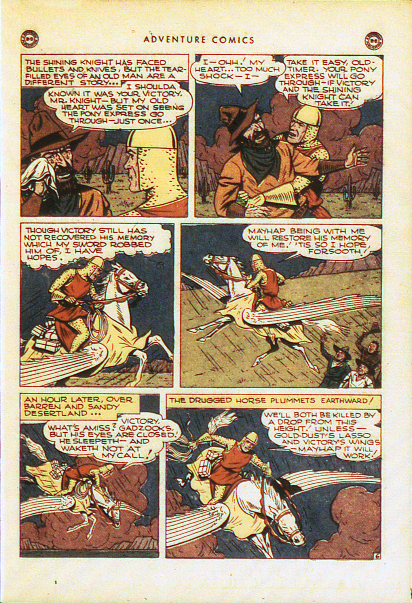 Read online Adventure Comics (1938) comic -  Issue #104 - 36
