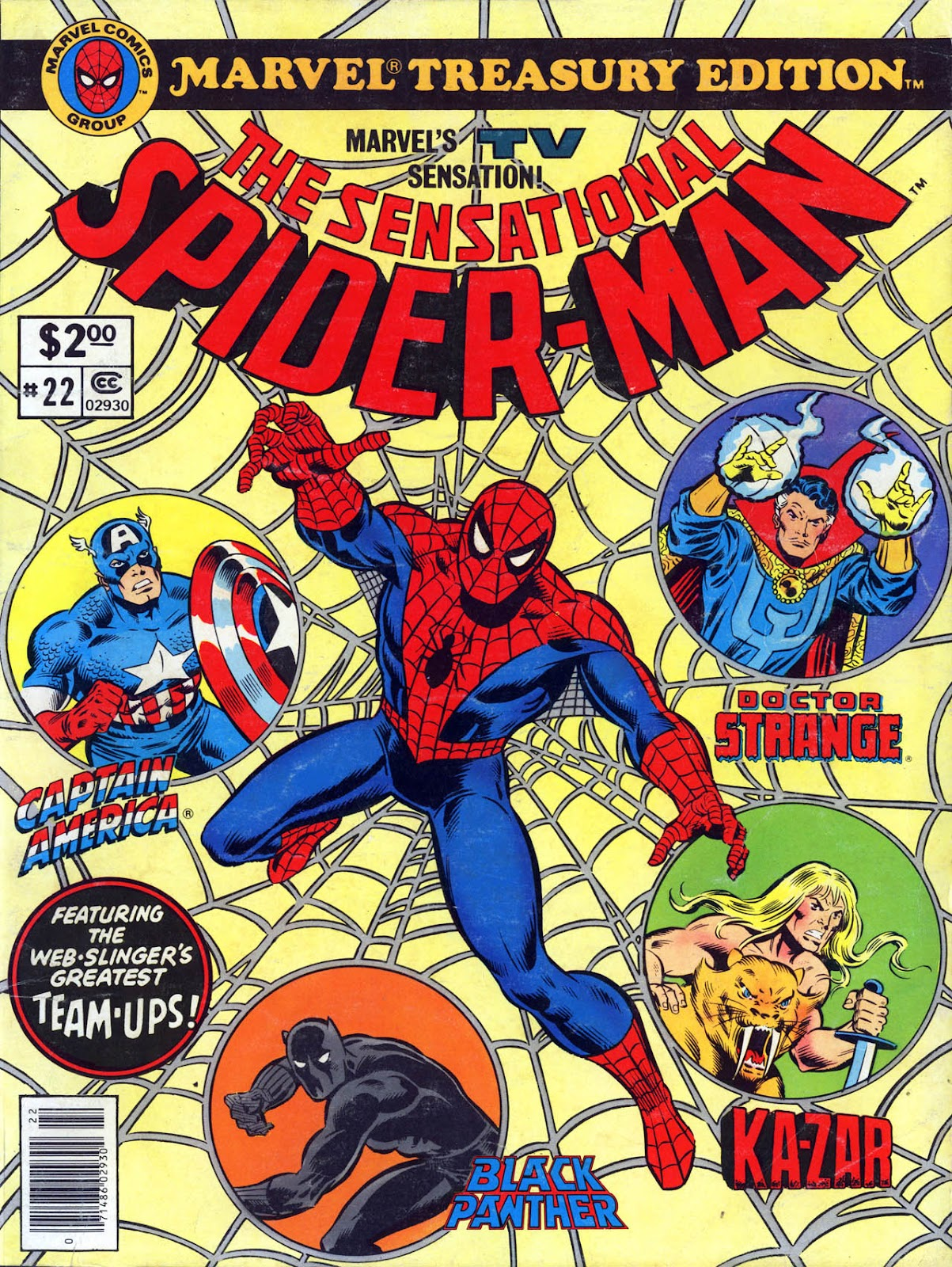 Marvel Treasury Edition 22 Page 1