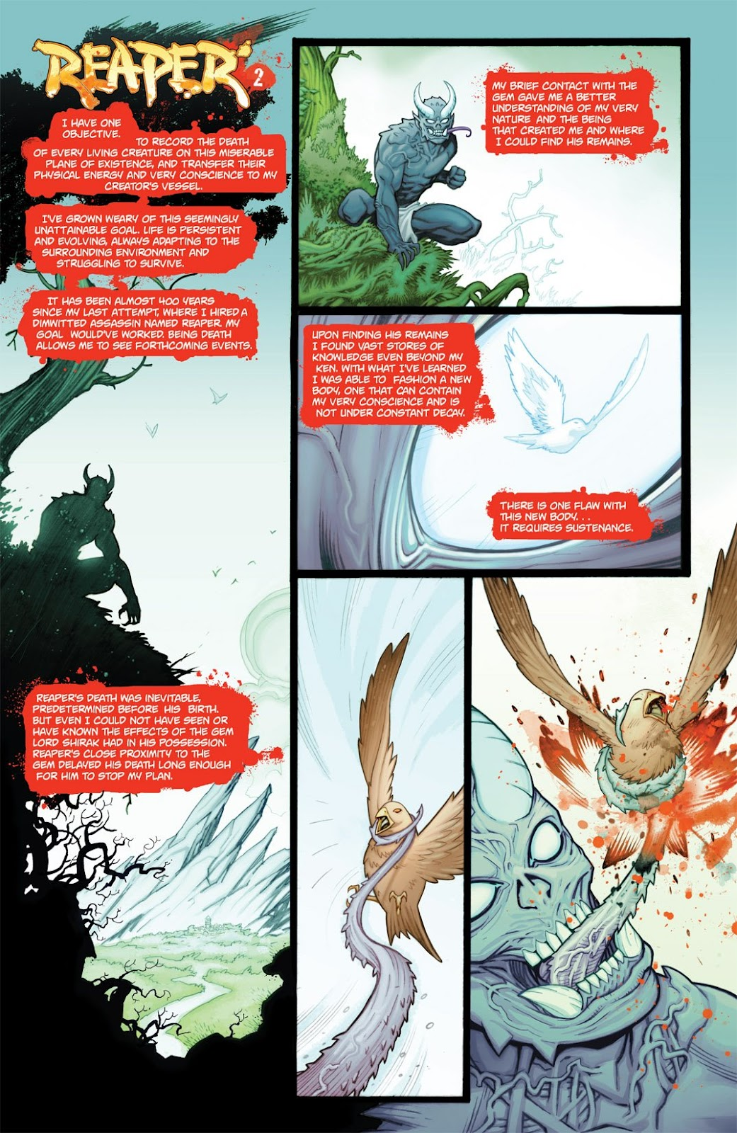 Read online Reaper comic -  Issue #2 - 3