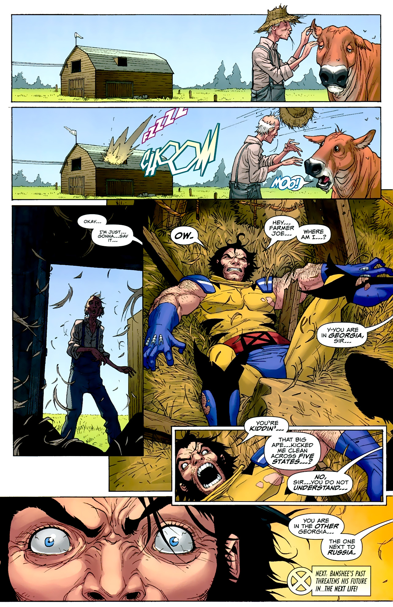 Read online Uncanny X-Men: First Class comic -  Issue #2 - 23