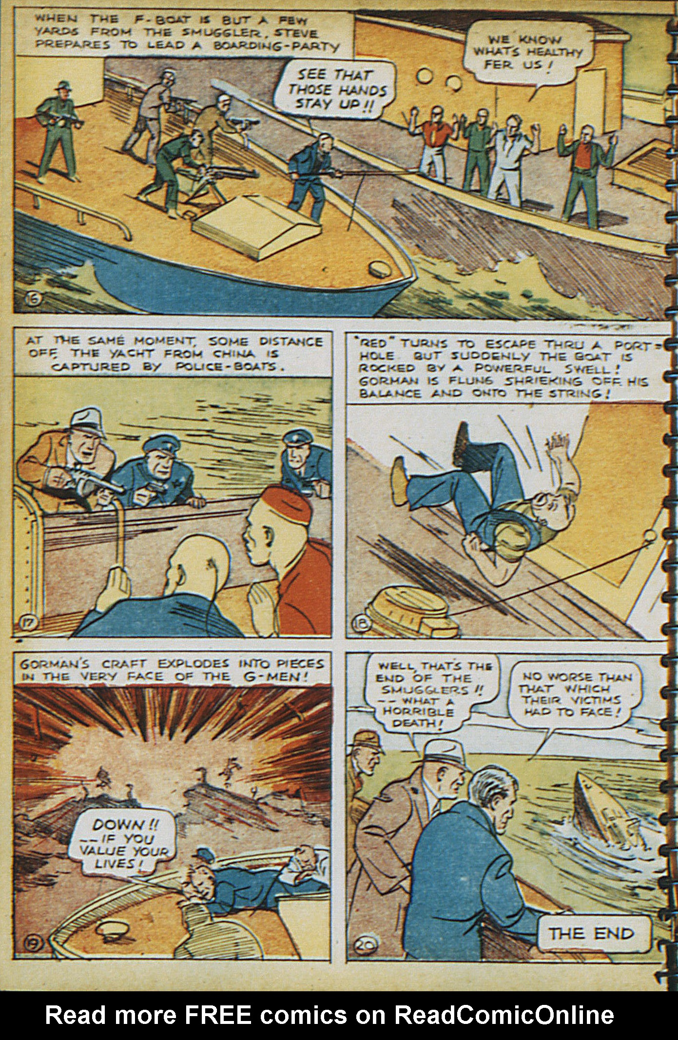Read online Adventure Comics (1938) comic -  Issue #16 - 7