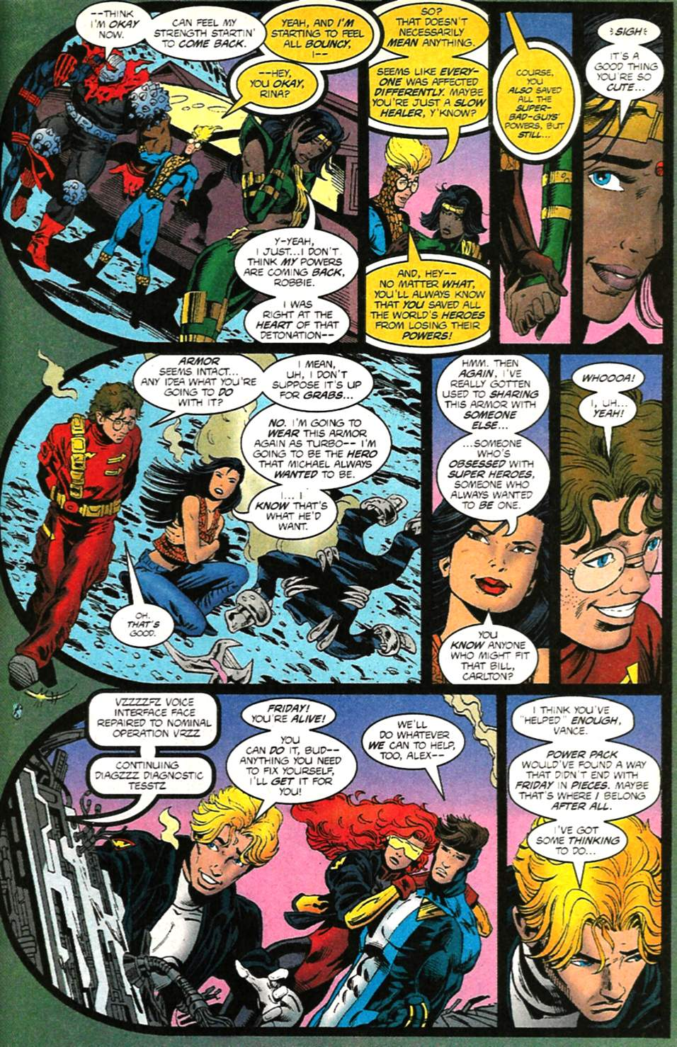 The New Warriors Issue #75 #79 - English 37