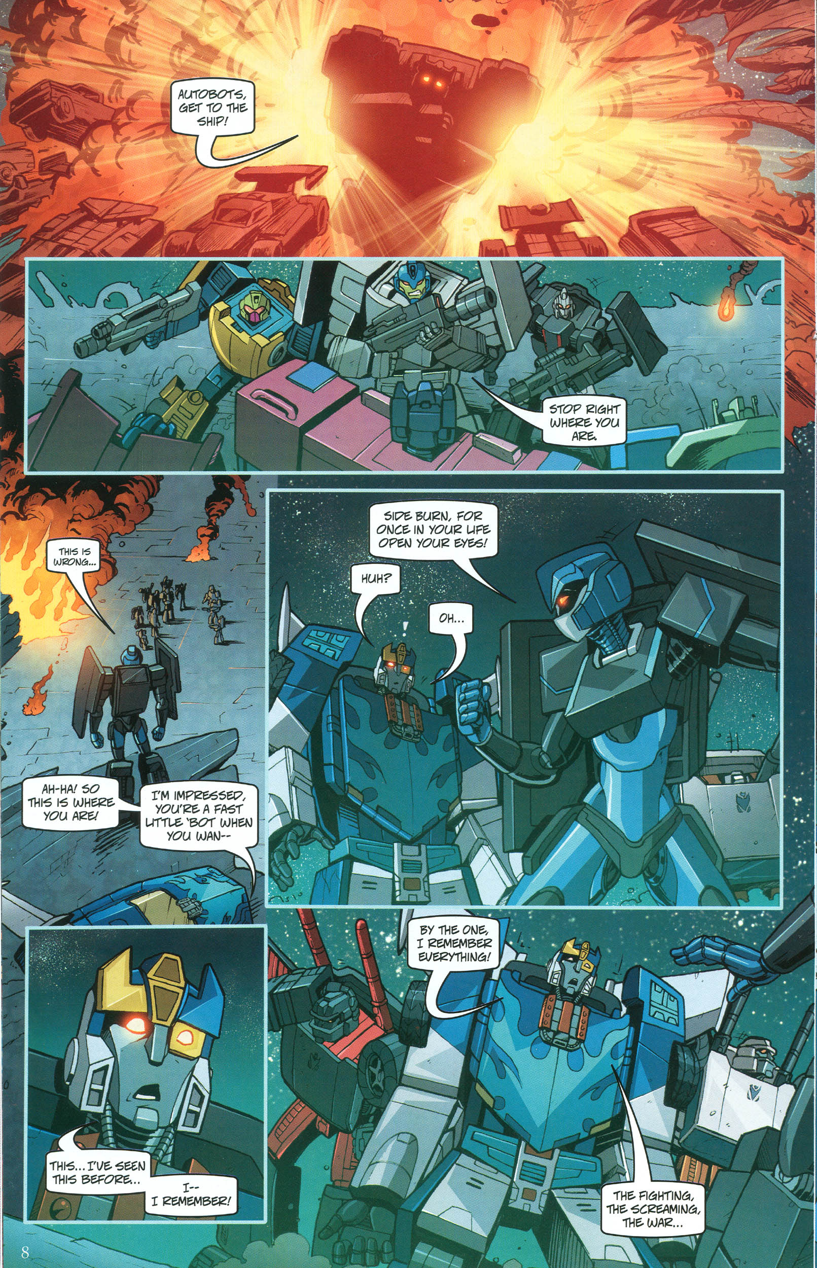 Read online Transformers: Collectors' Club comic -  Issue #48 - 8