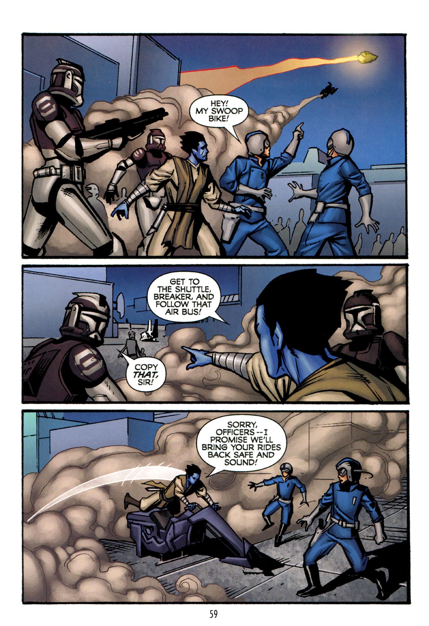 Read online Star Wars: The Clone Wars - Strange Allies comic -  Issue # Full - 60