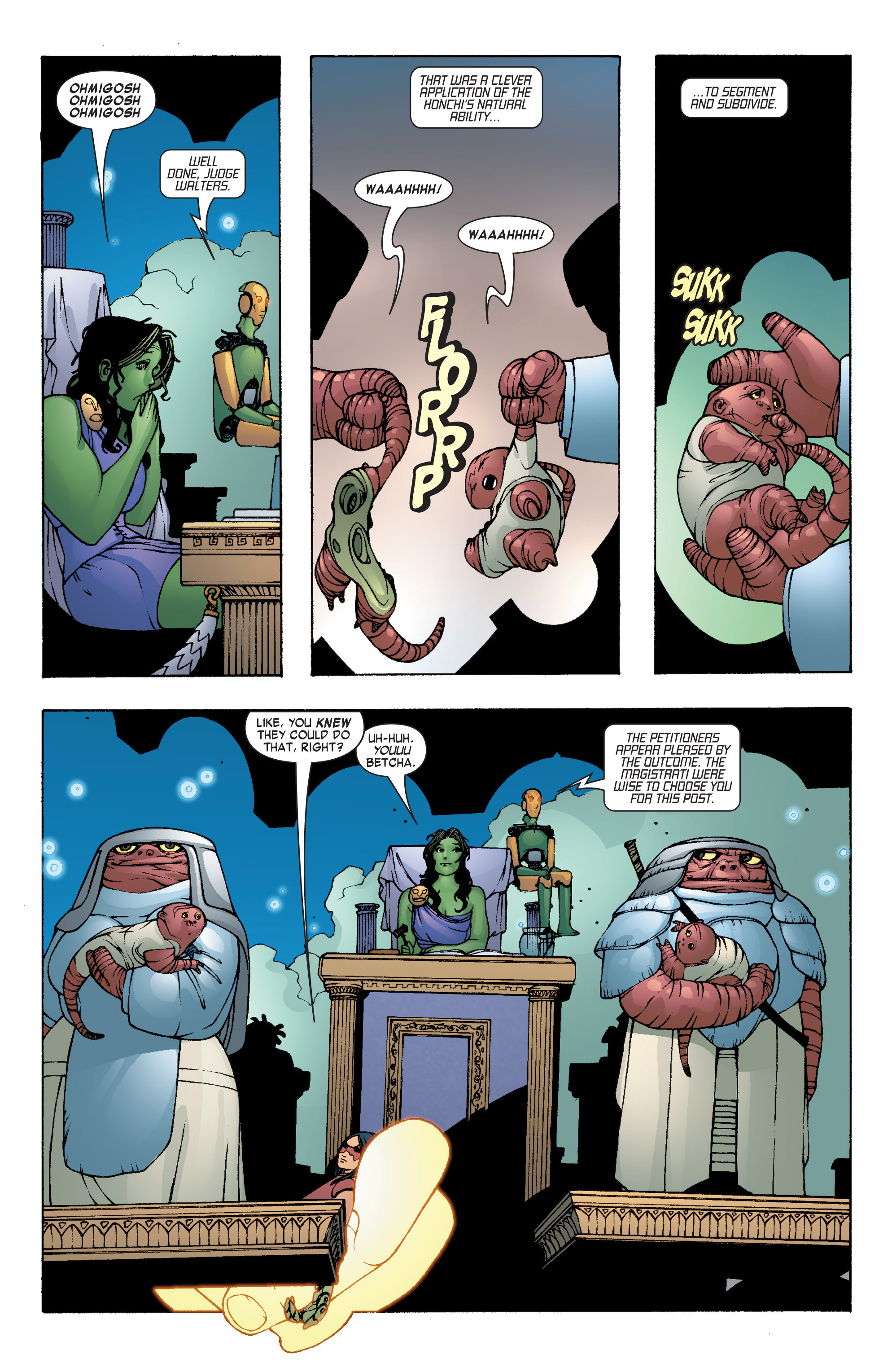 Read online She-Hulk (2004) comic -  Issue #7 - 17