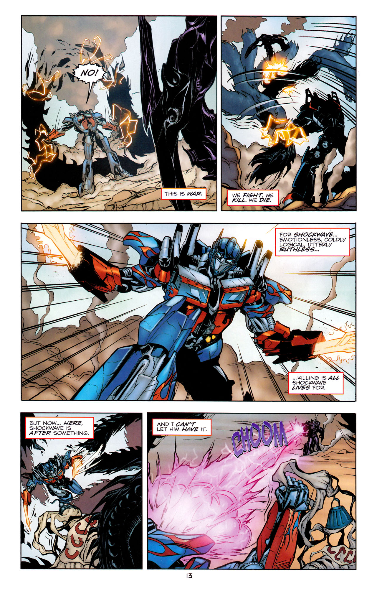 Read online Transformers: Dark of the Moon Movie Adaptation comic -  Issue #1 - 15