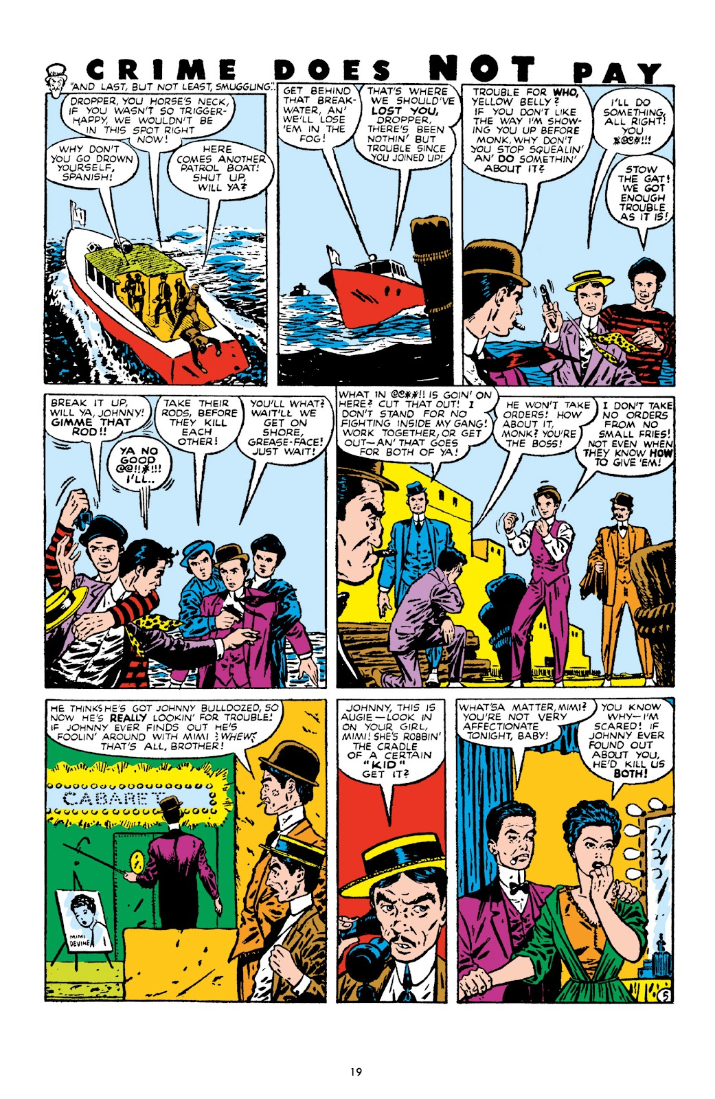 Read online Crime Does Not Pay Archives comic -  Issue # TPB 10 (Part 1) - 21