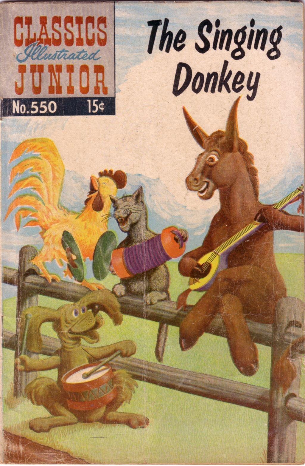 Classics Illustrated Junior 550 Page 1
