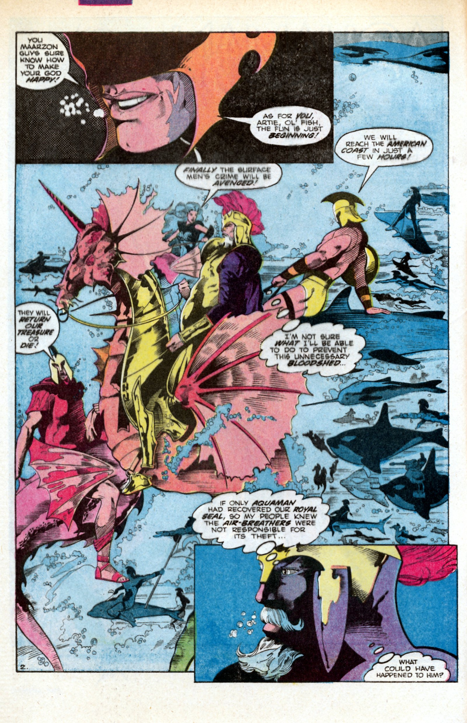 Read online Aquaman (1986) comic -  Issue #3 - 4
