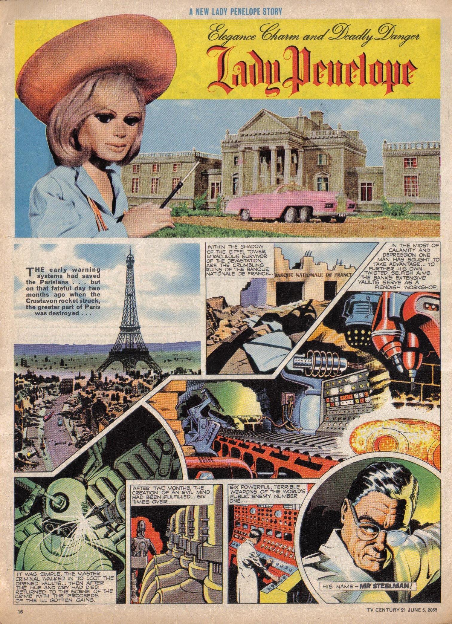 Read online TV Century 21 (TV 21) comic -  Issue #20 - 15