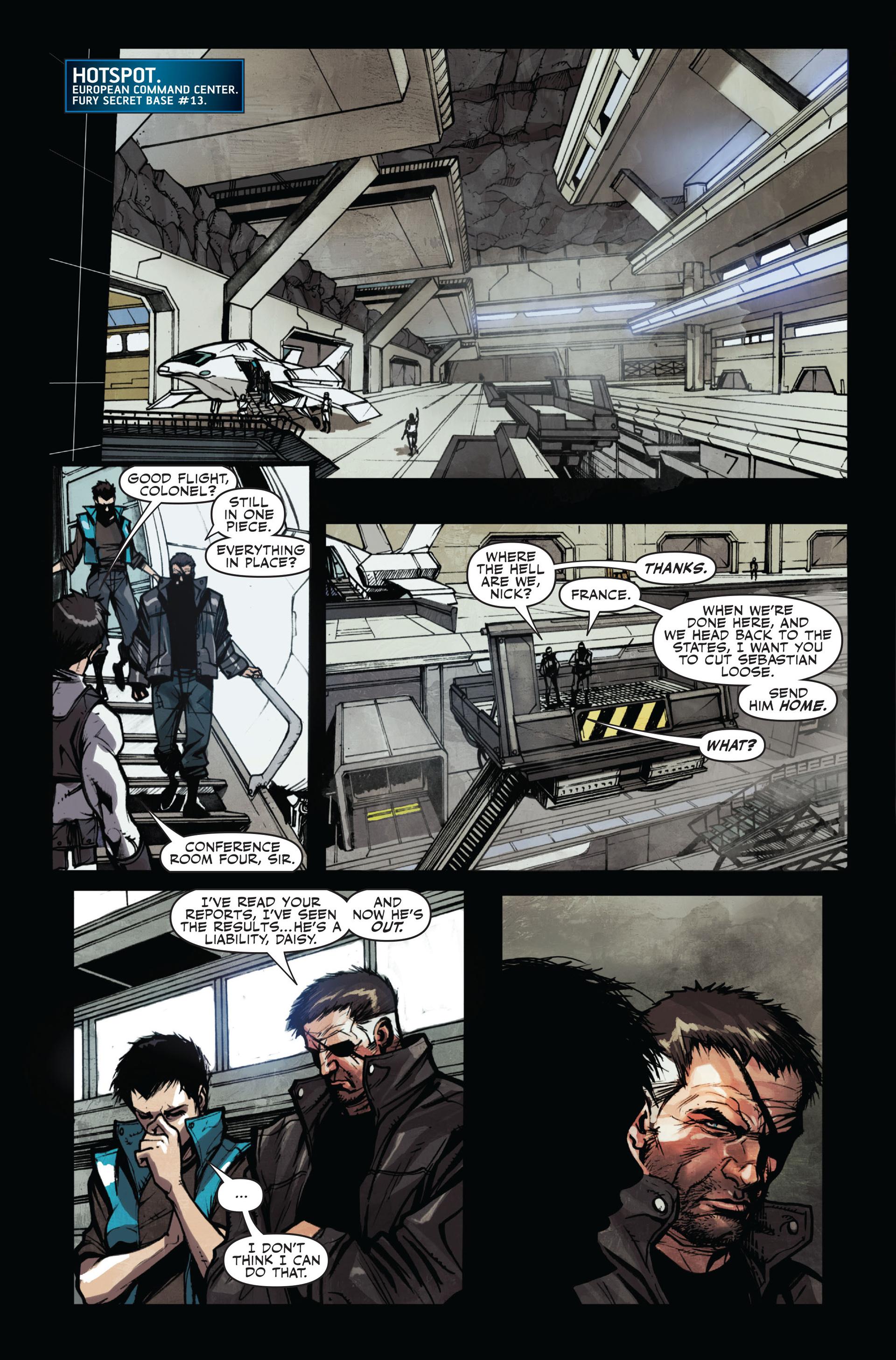 Read online Secret Warriors comic -  Issue #11 - 21