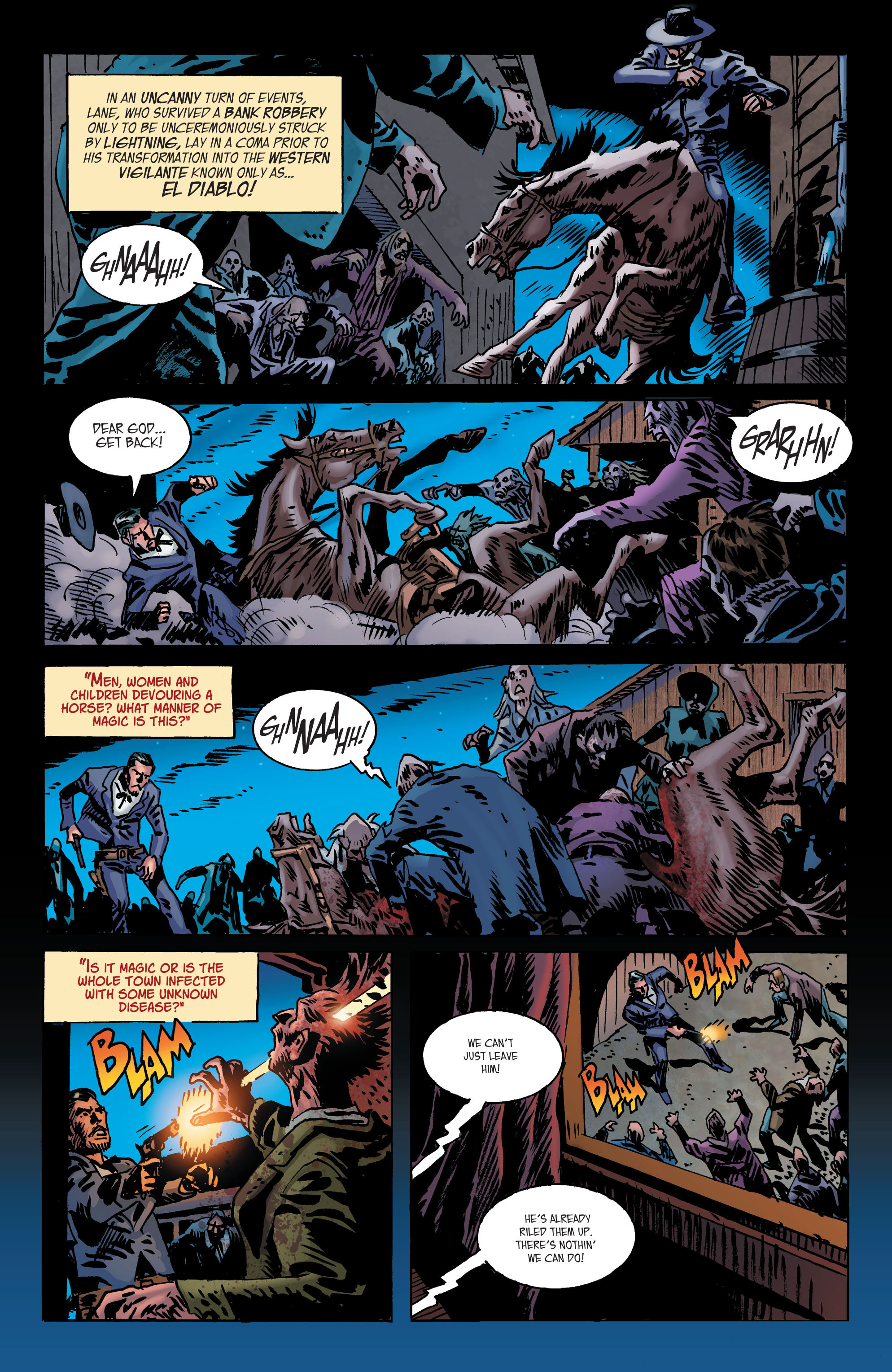 Read online All-Star Western (2011) comic -  Issue #2 - 22