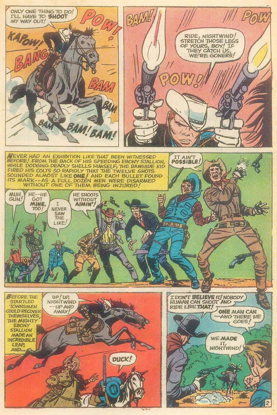 The Rawhide Kid (1955) issue 92 - Page 21