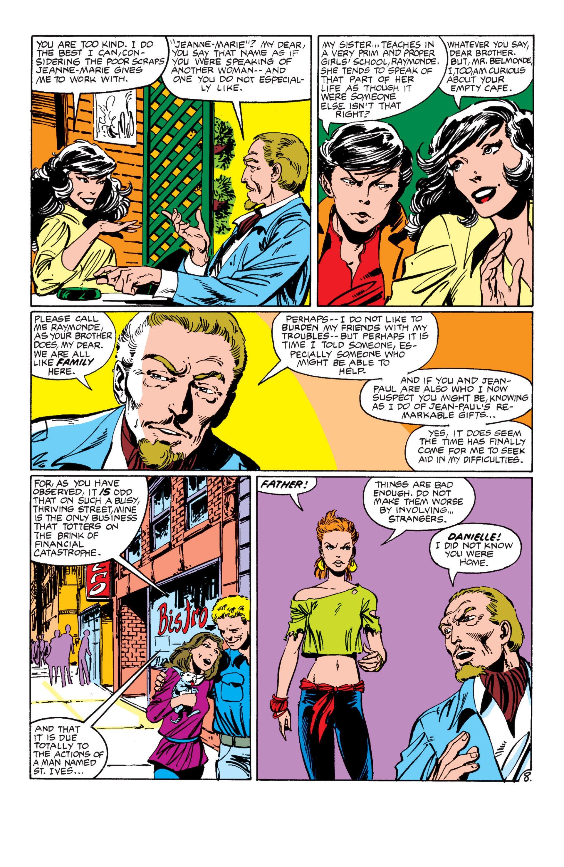 Read online Alpha Flight (1983) comic -  Issue #7 - 9