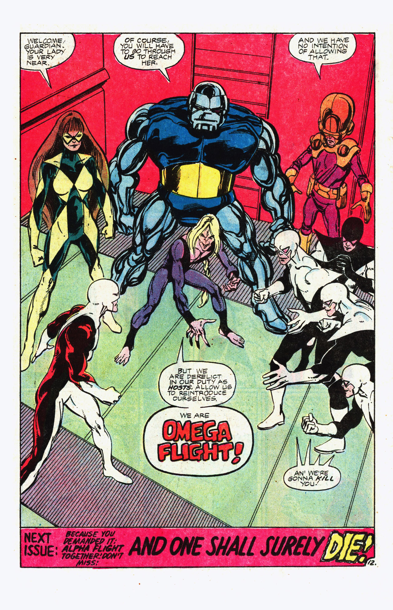 Read online Alpha Flight (1983) comic -  Issue #11 - 13