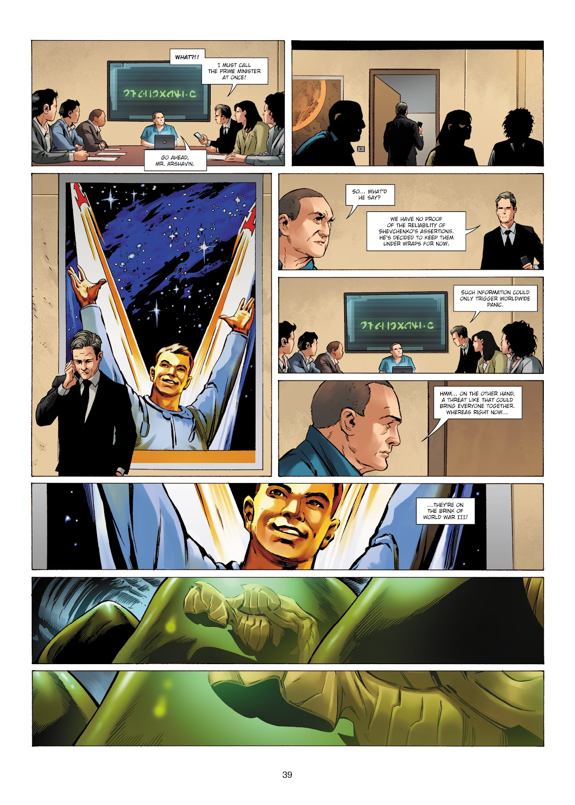 Read online Olympus Mons Vol. 1: Anomaly One comic -  Issue #5 - 35