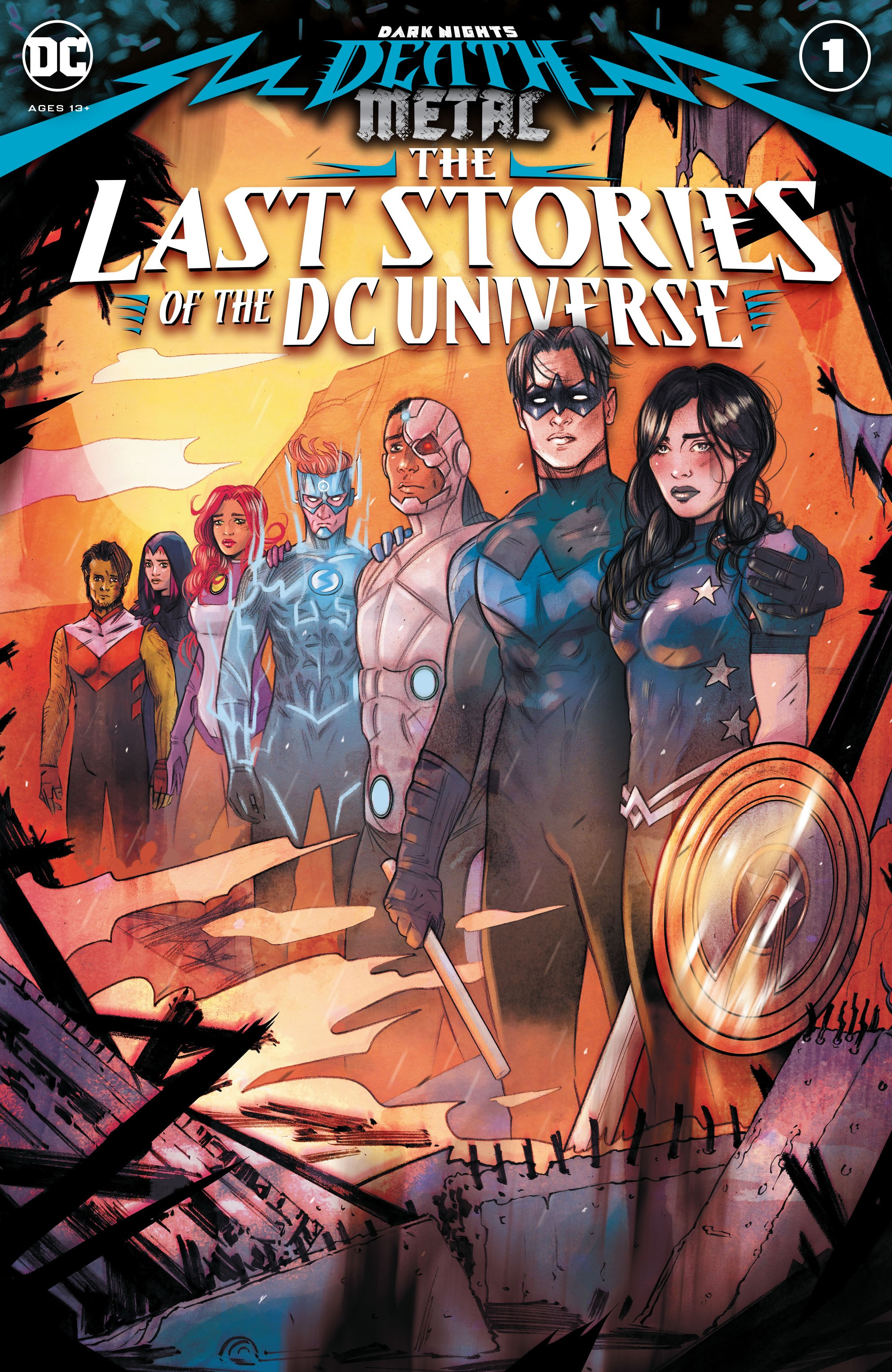 Dark Nights: Death Metal: The Last Stories of the DC Universe TPB Page 1