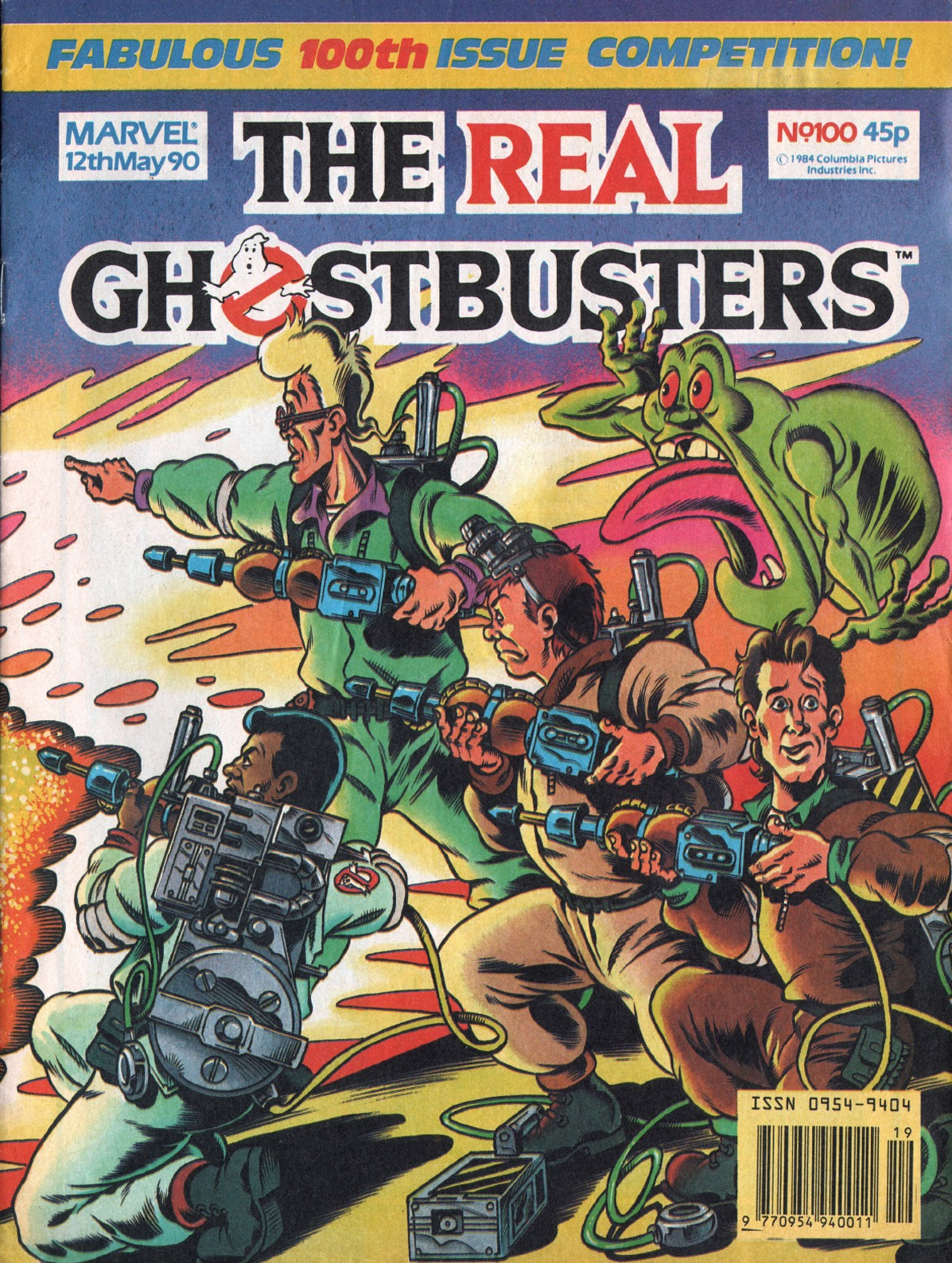 The Real Ghostbusters 100 Page 1