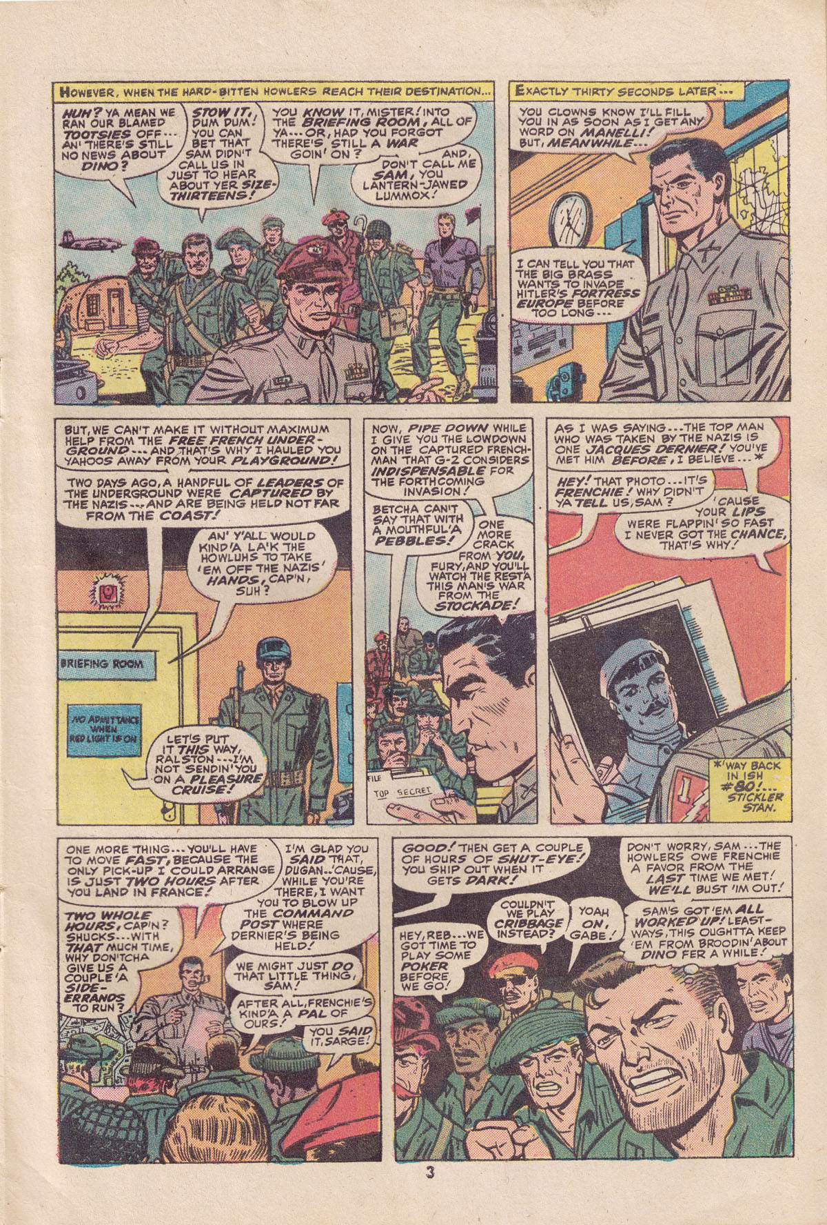 Read online Sgt. Fury comic -  Issue #113 - 5