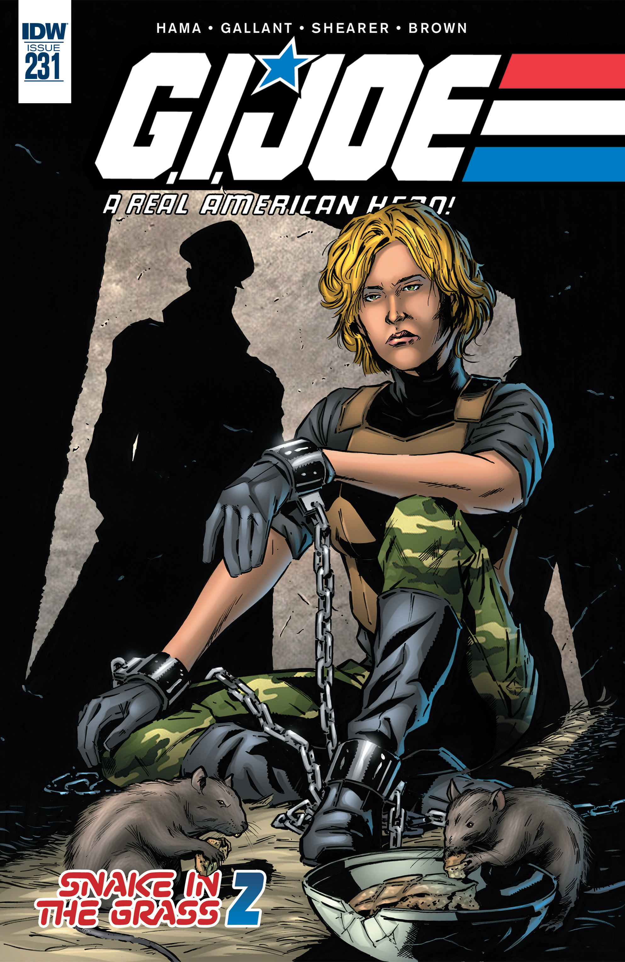 G.I. Joe: A Real American Hero 231 Page 1