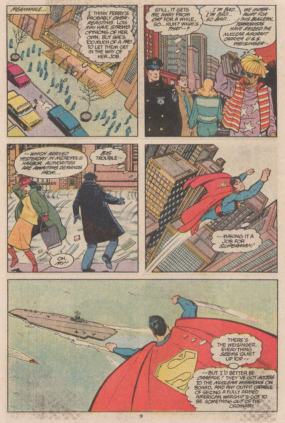 Read online Action Comics (1938) comic -  Issue #598 - 10