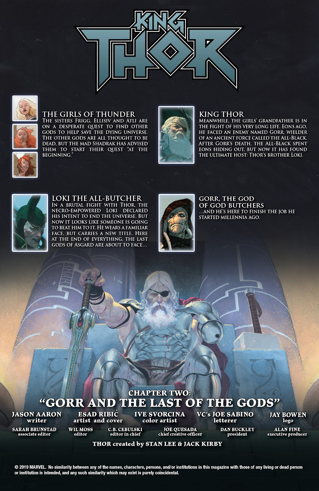 Read online King Thor comic -  Issue #2 - 2