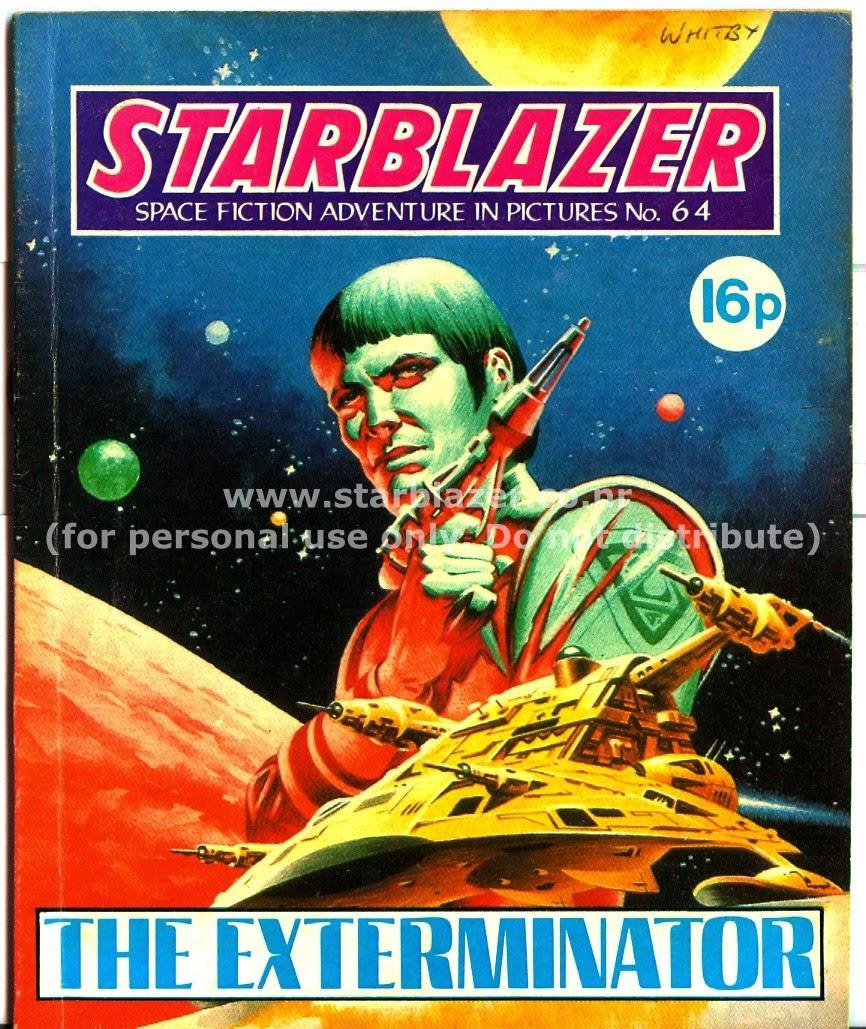 Starblazer issue 64 - Page 1