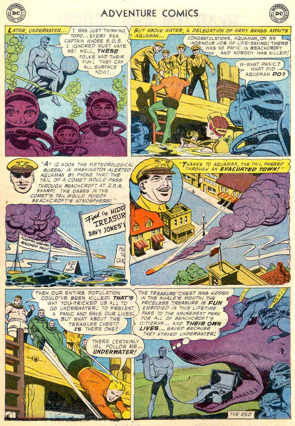 Read online Adventure Comics (1938) comic -  Issue #246 - 23
