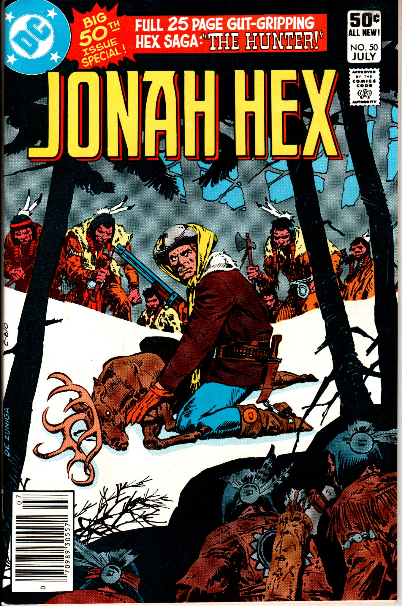 Jonah Hex (1977) 50 Page 1