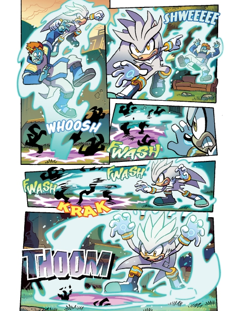 Read online Sonic Comics Spectacular: Speed of Sound comic -  Issue # Full - 115