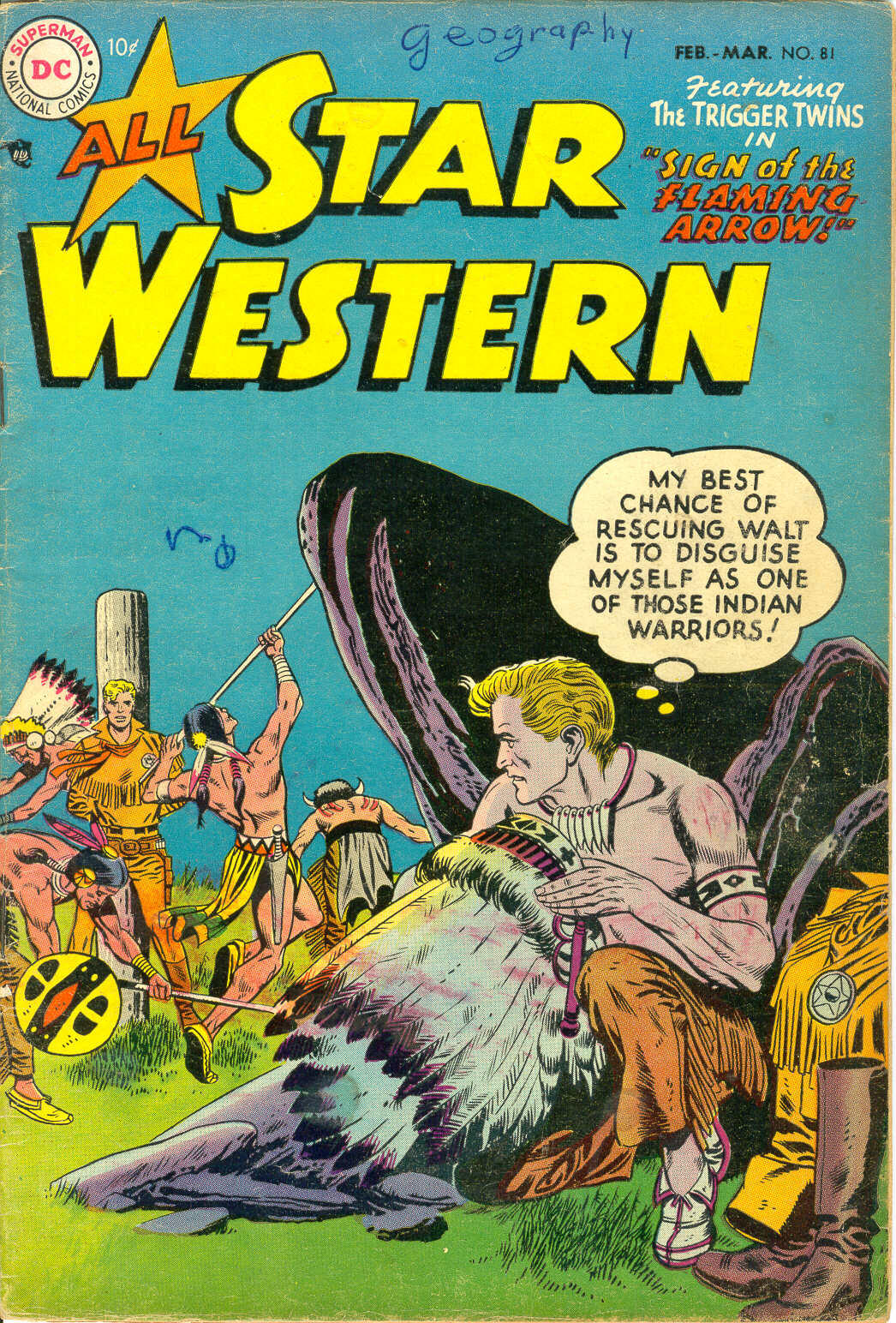 All-Star Western (1951) issue 81 - Page 1