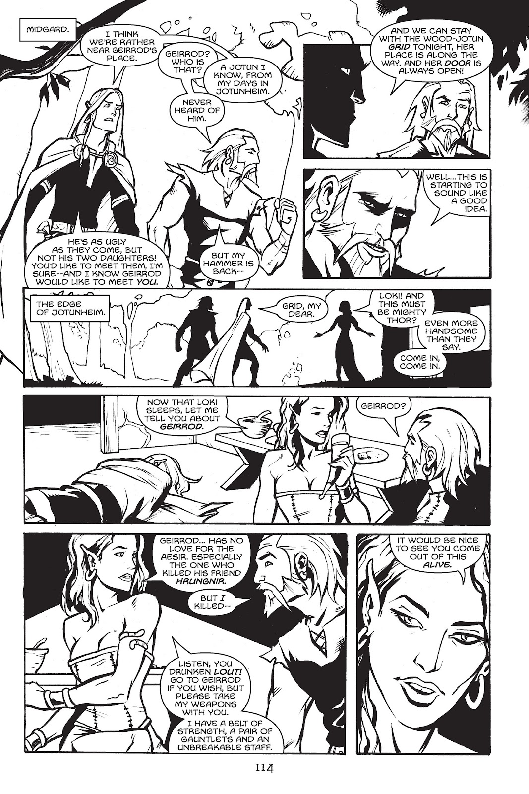 Read online Gods of Asgard comic -  Issue # TPB (Part 2) - 16