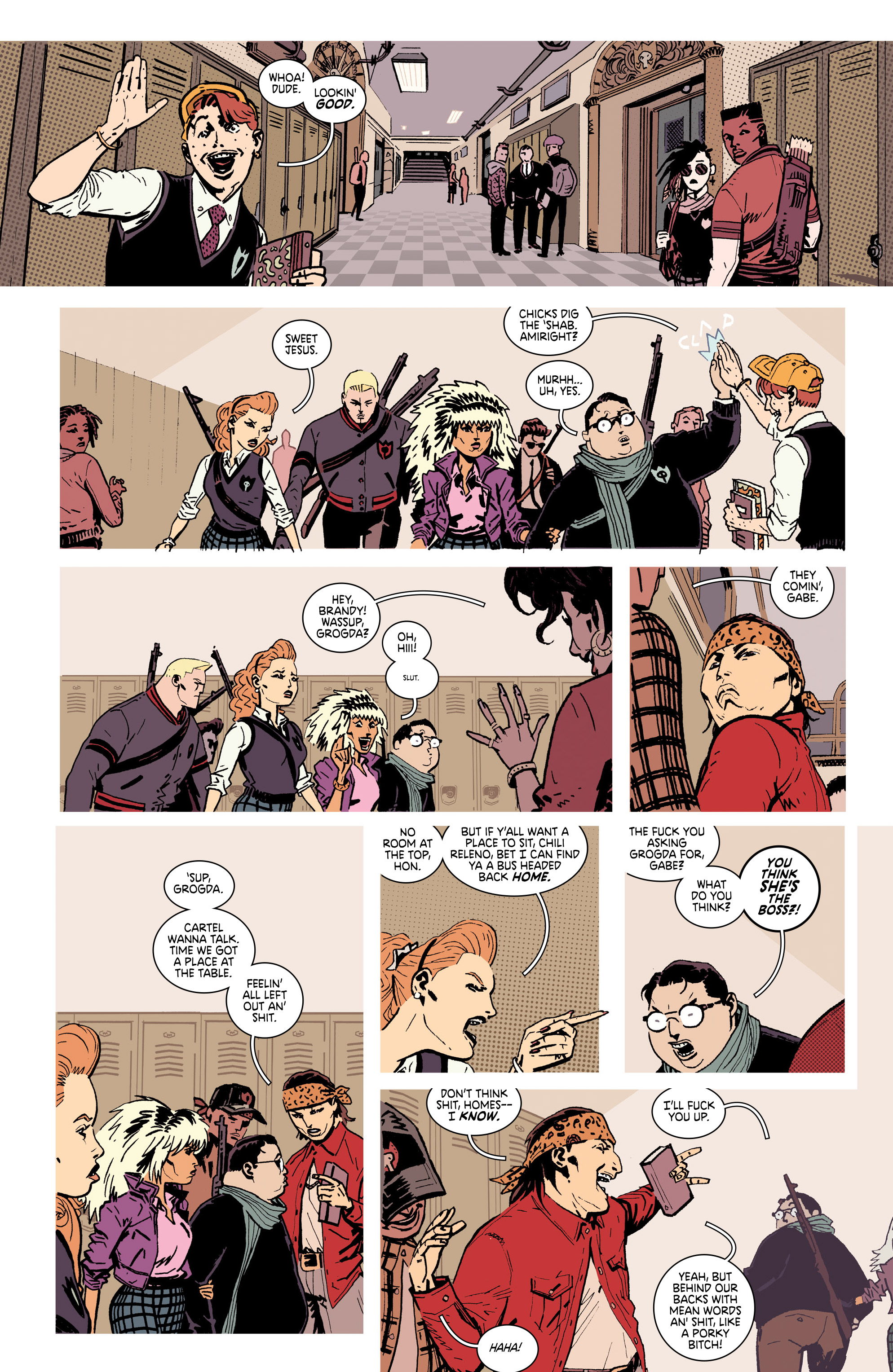 Read online Deadly Class comic -  Issue #28 - 13