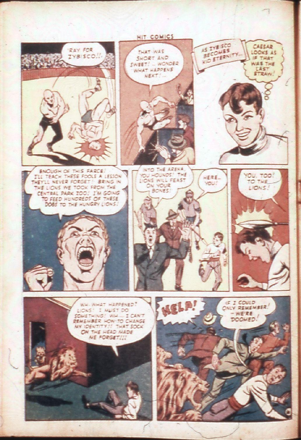 Read online Hit Comics comic -  Issue #30 - 17