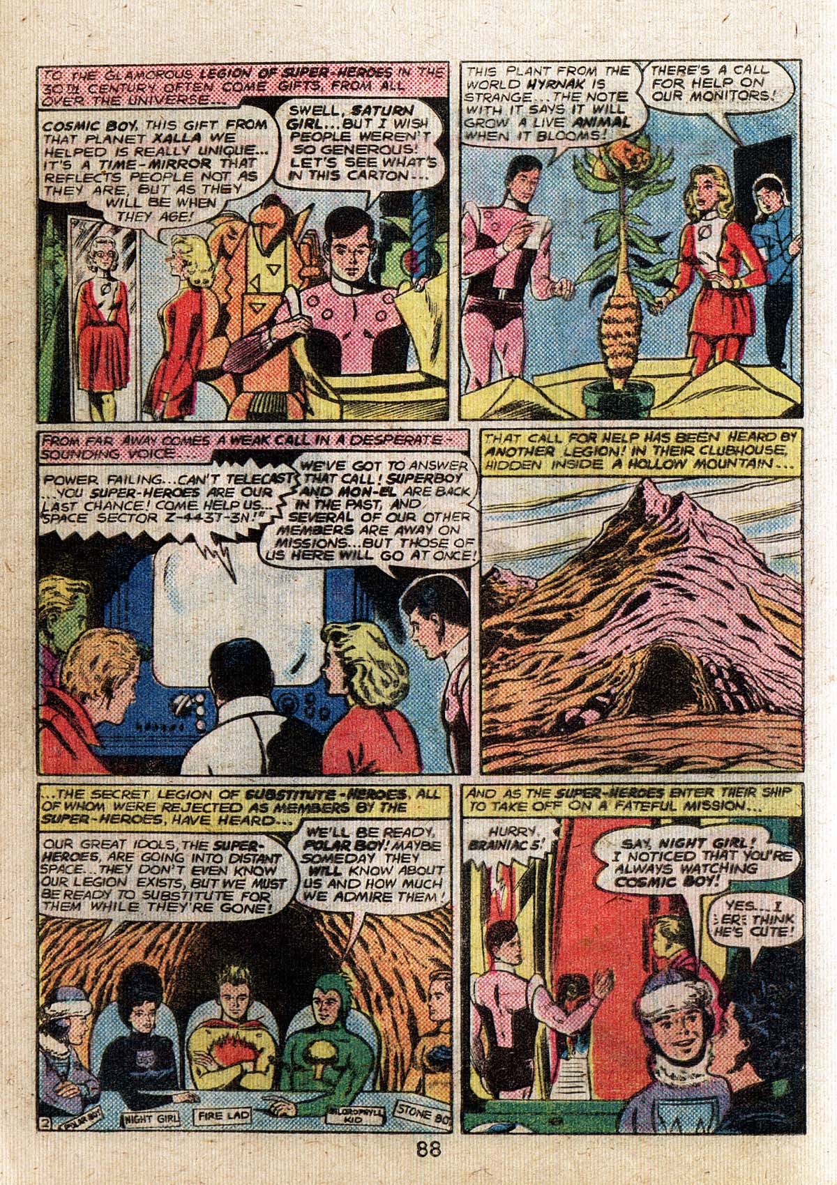 Read online Adventure Comics (1938) comic -  Issue #500 - 88