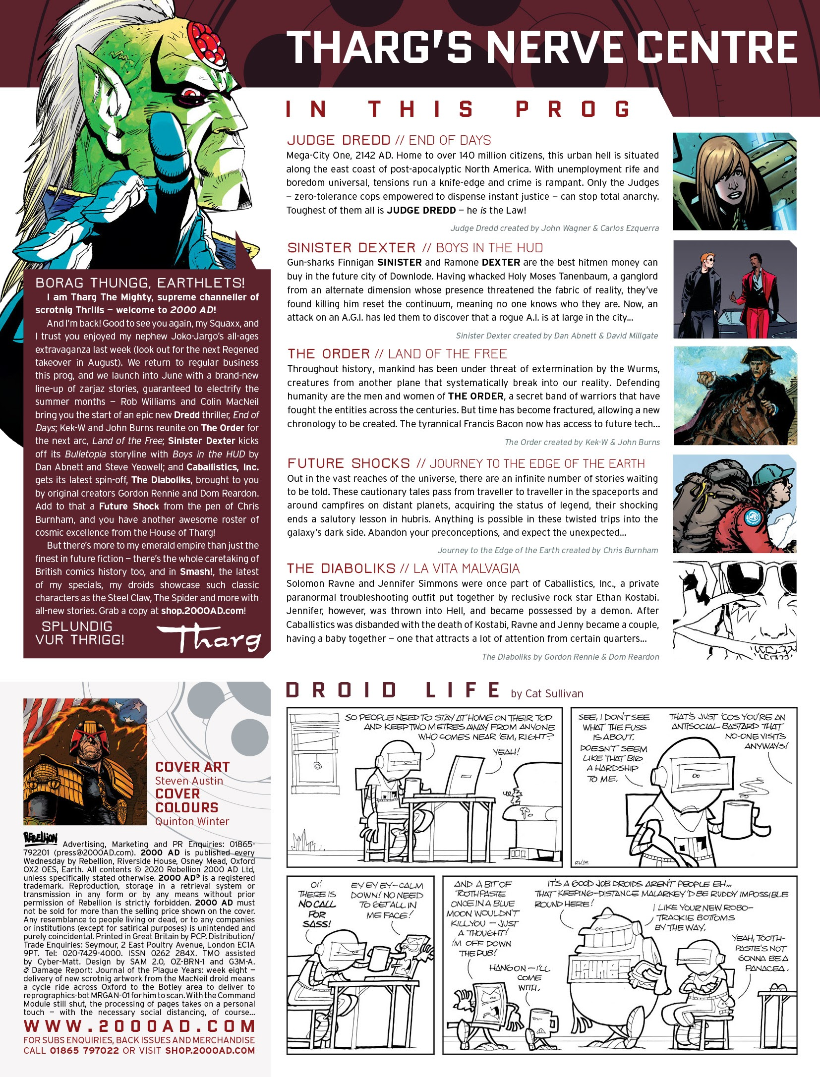 2000 AD 2184 Page 2