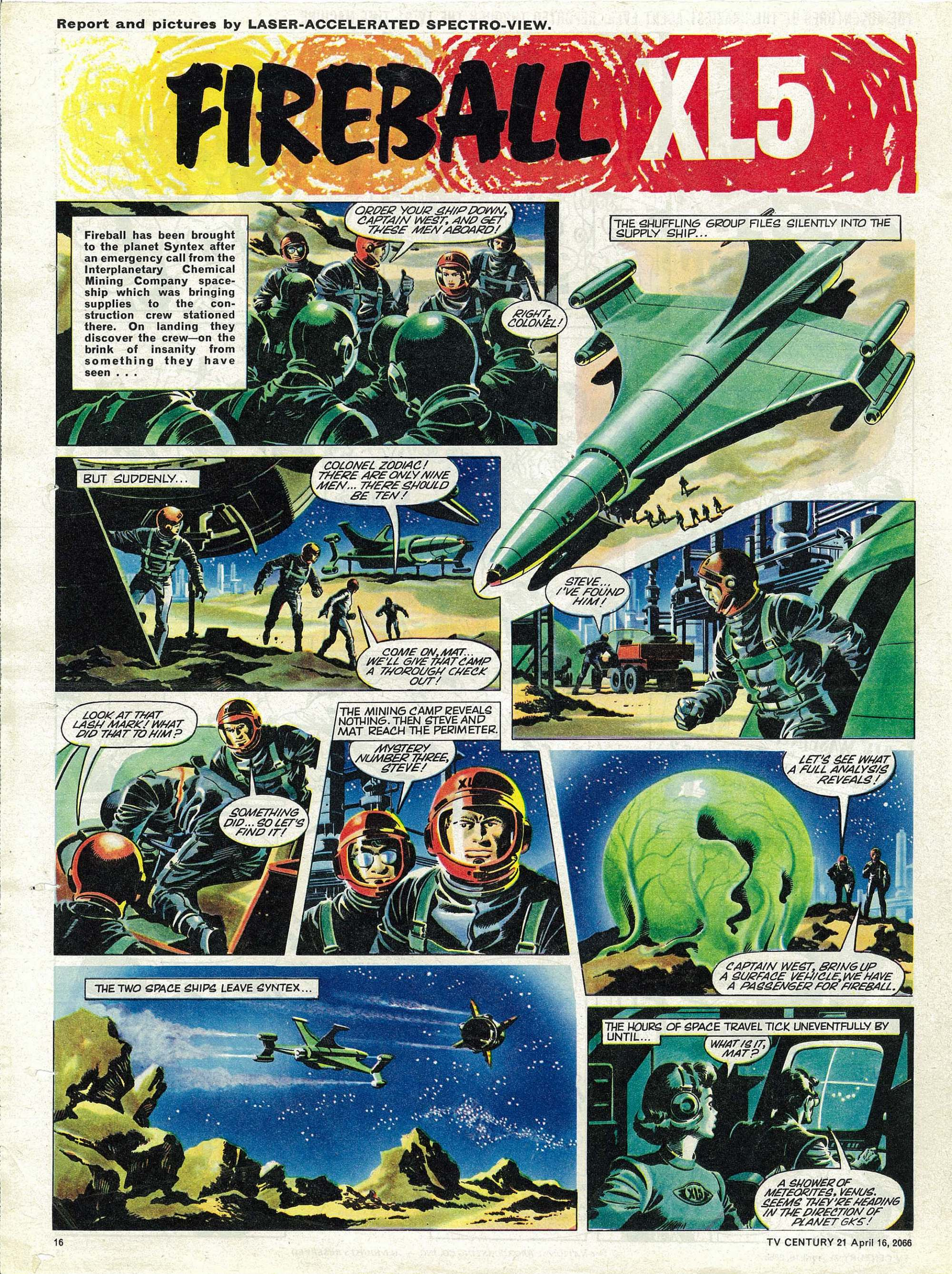 Read online TV Century 21 (TV 21) comic -  Issue #65 - 15