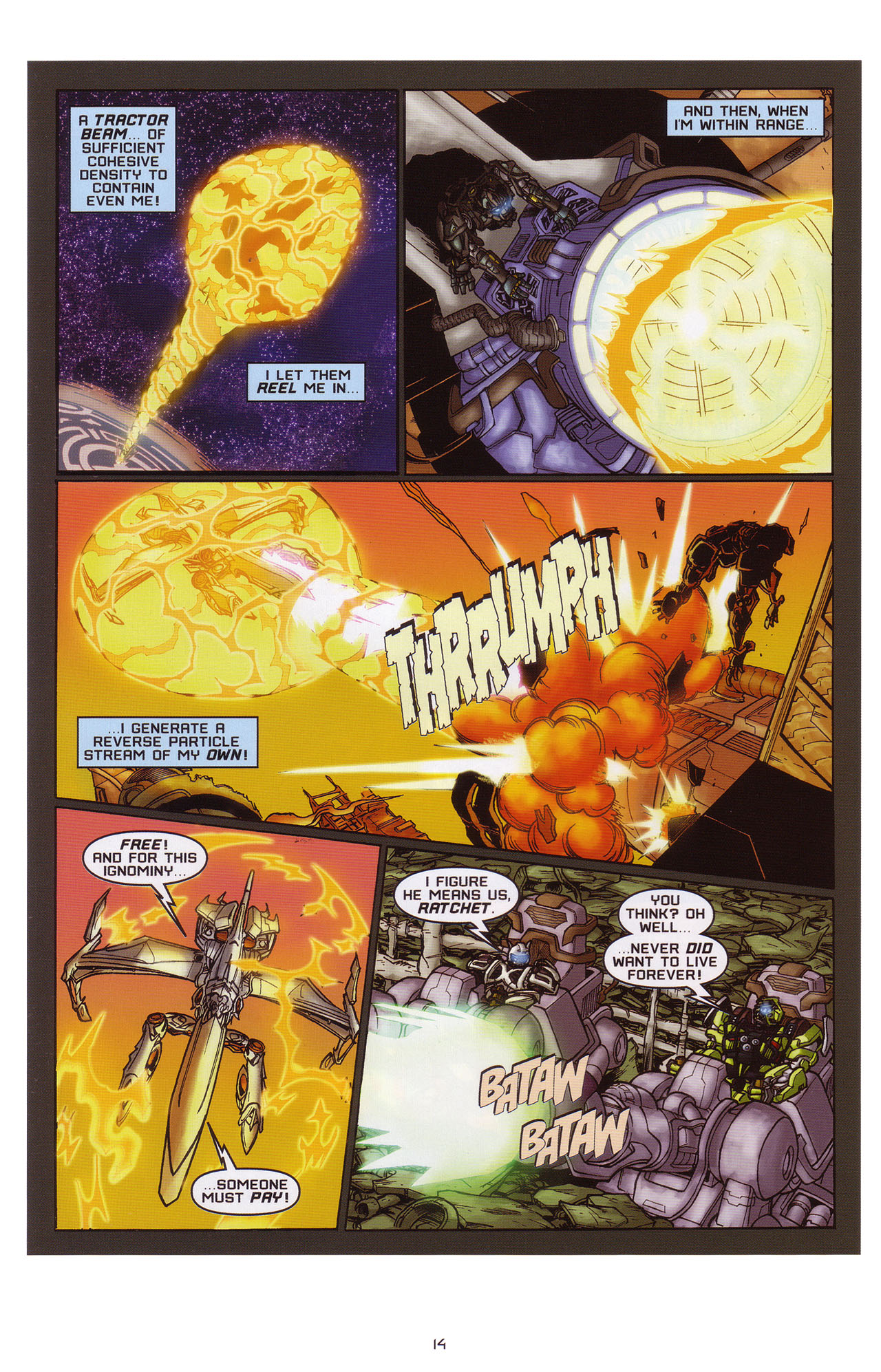 Read online Transformers: Saga of the Allspark comic -  Issue #1 - 15