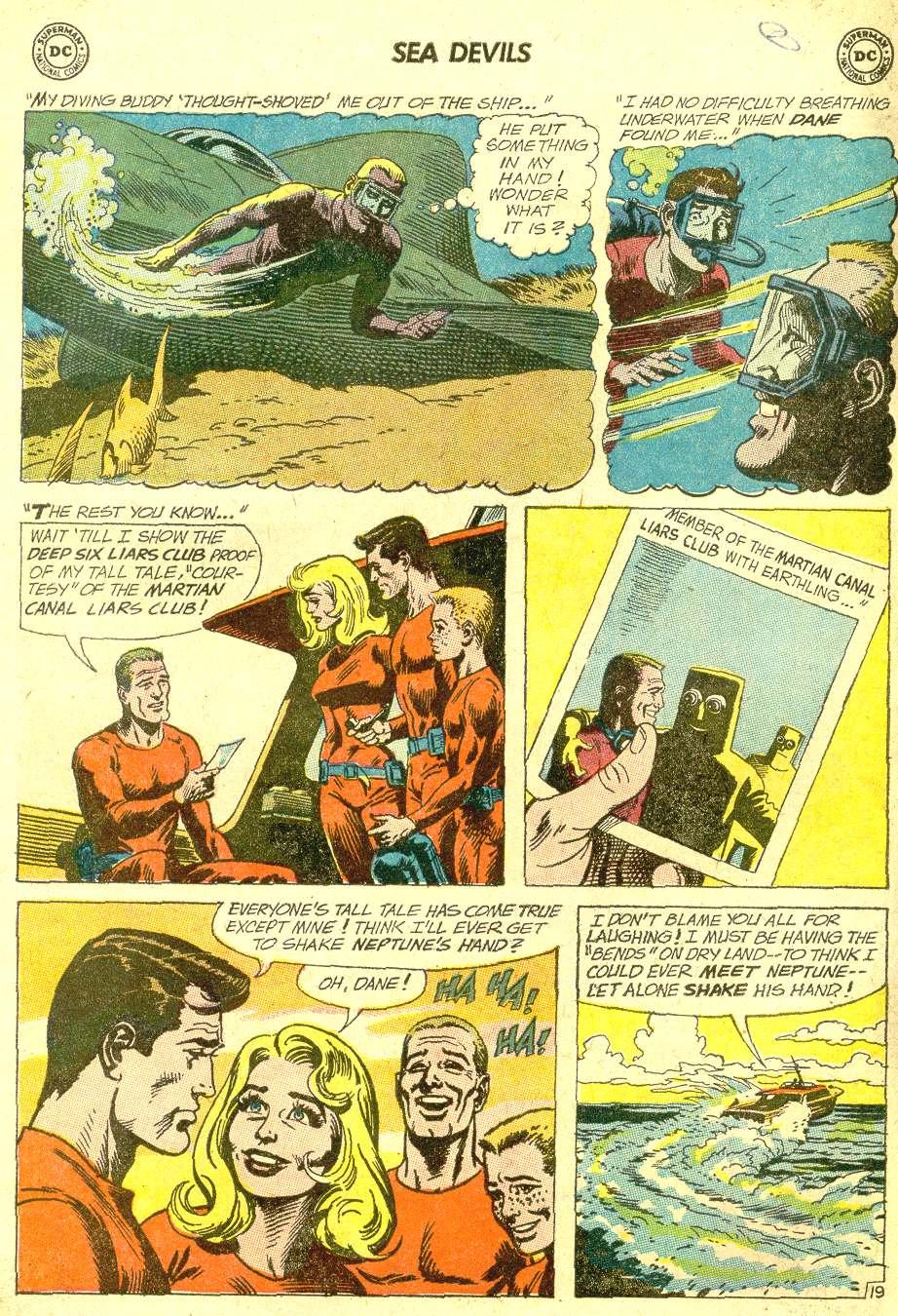 Read online Sea Devils comic -  Issue #10 - 27