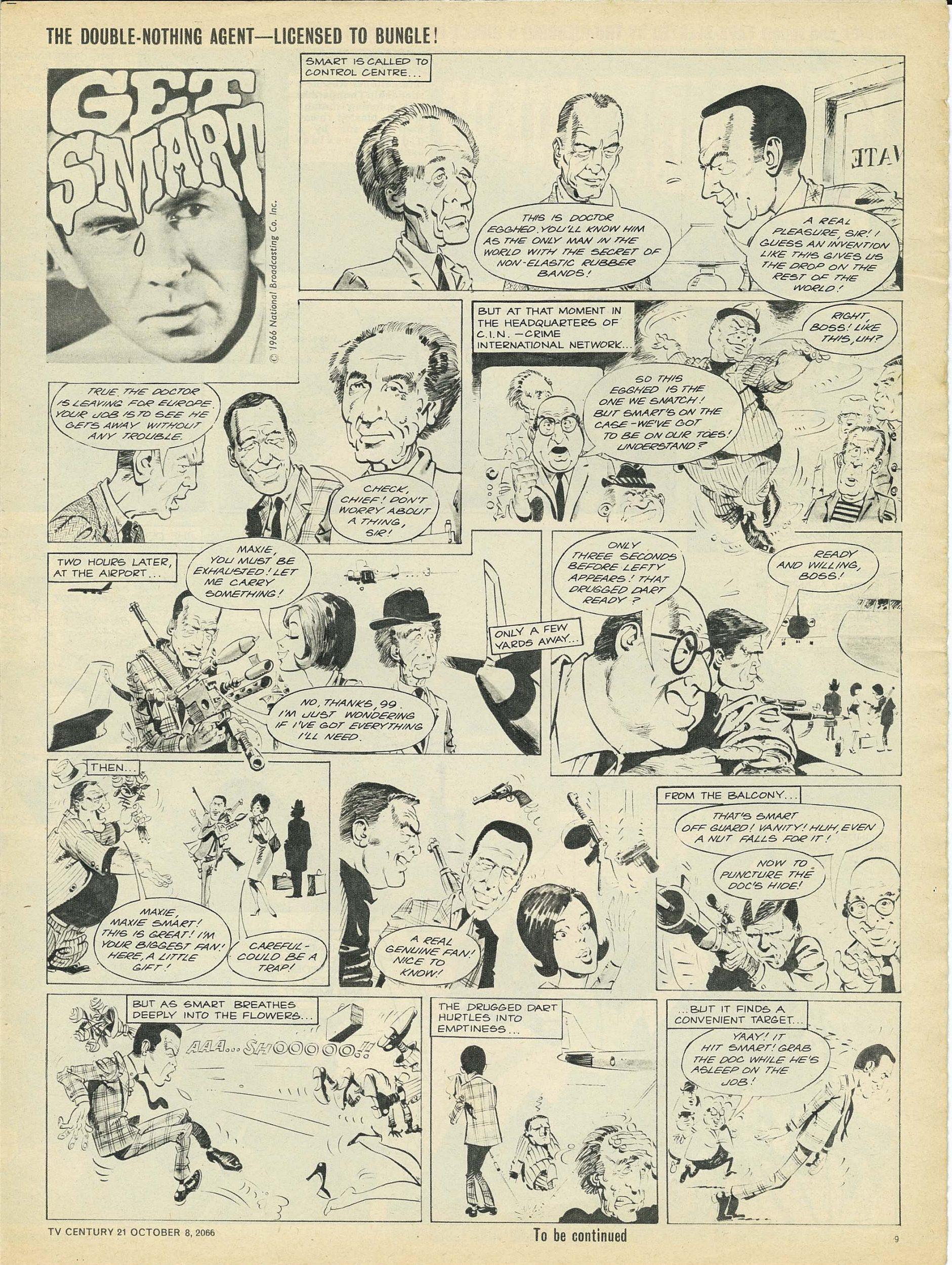 Read online TV Century 21 (TV 21) comic -  Issue #90 - 9