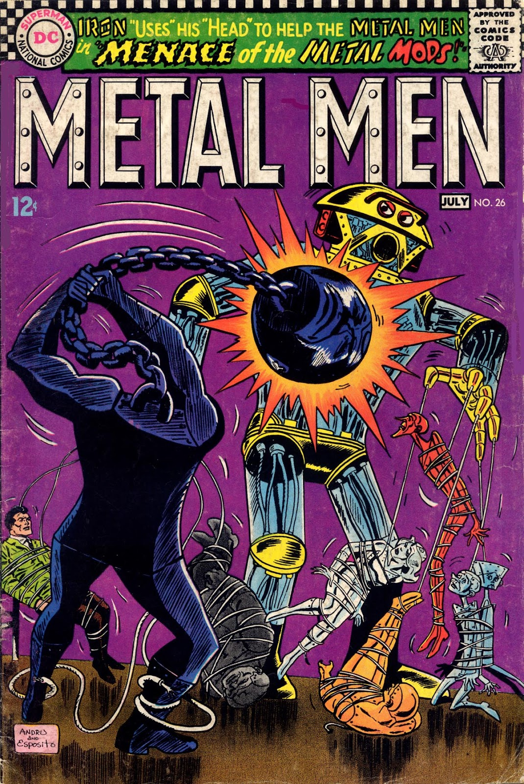 Metal Men (1963) issue 26 - Page 1