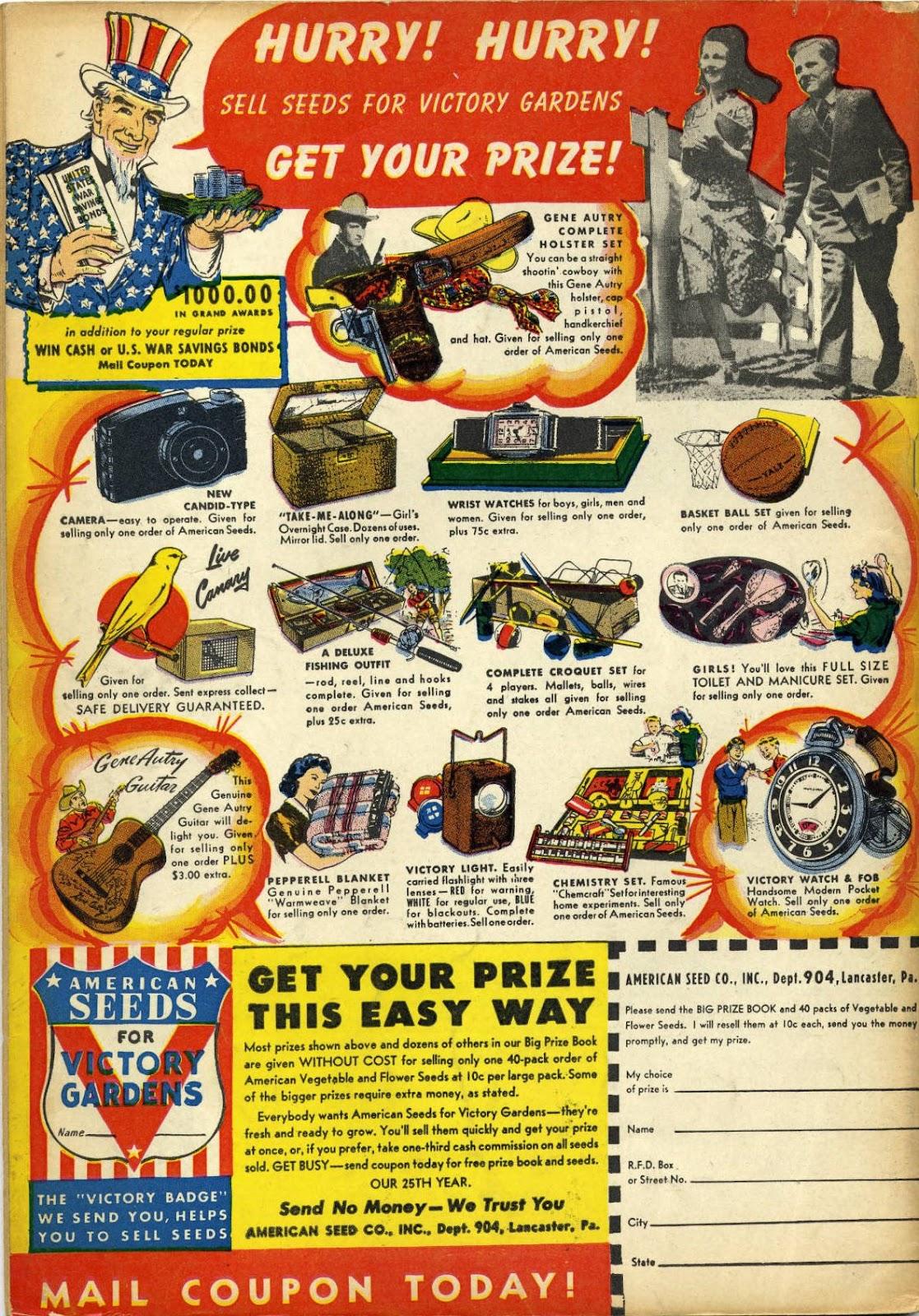 Read online Super-Magician Comics comic -  Issue #11 - 68