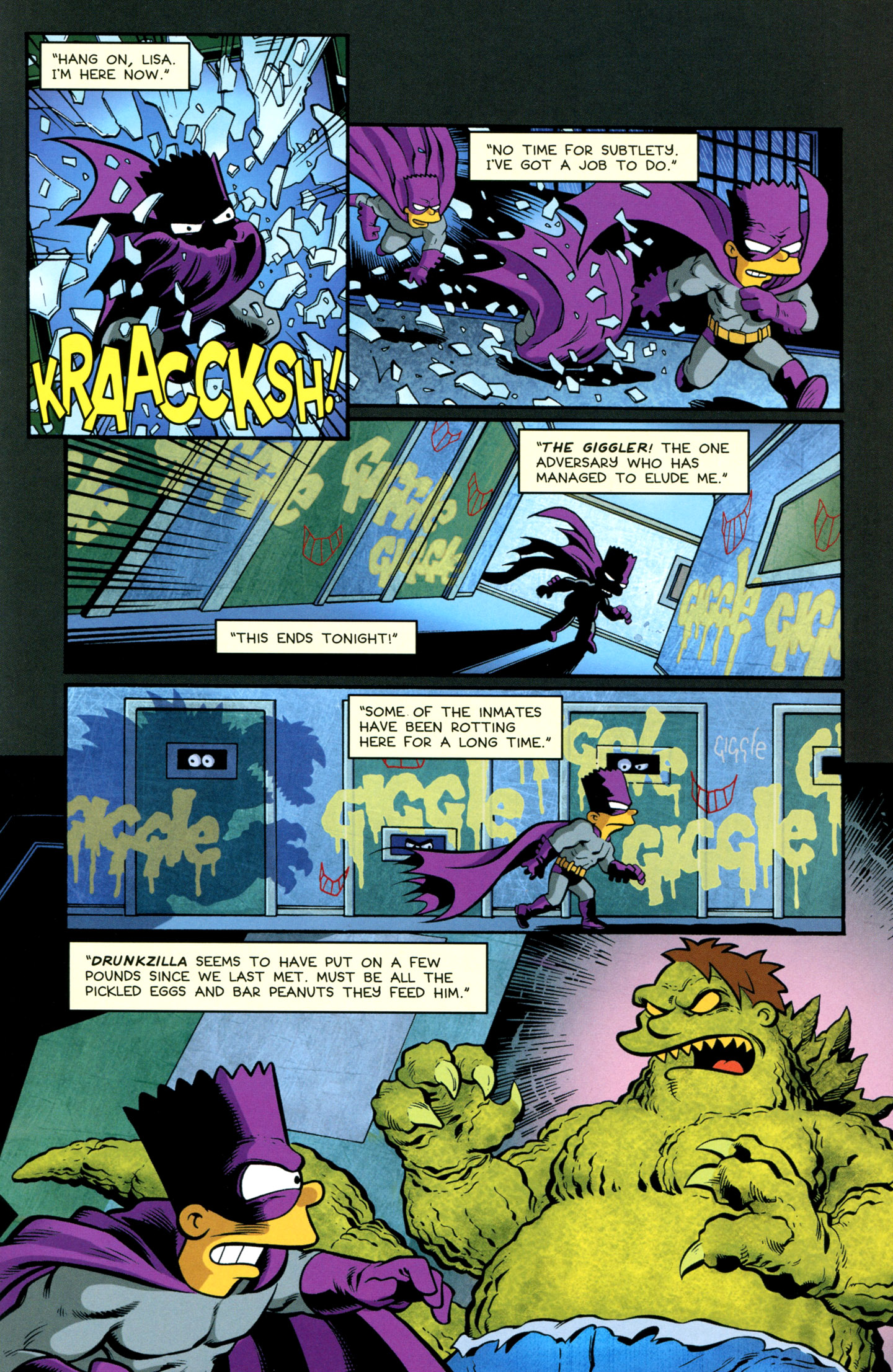 Read online Treehouse of Horror comic -  Issue #18 - 33
