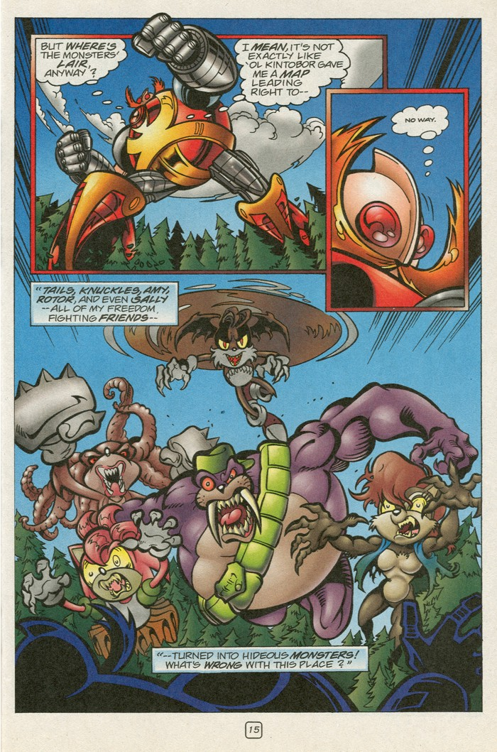 Read online Sonic Super Special comic -  Issue #12 - Sonic and Knuckles visa versa - 32