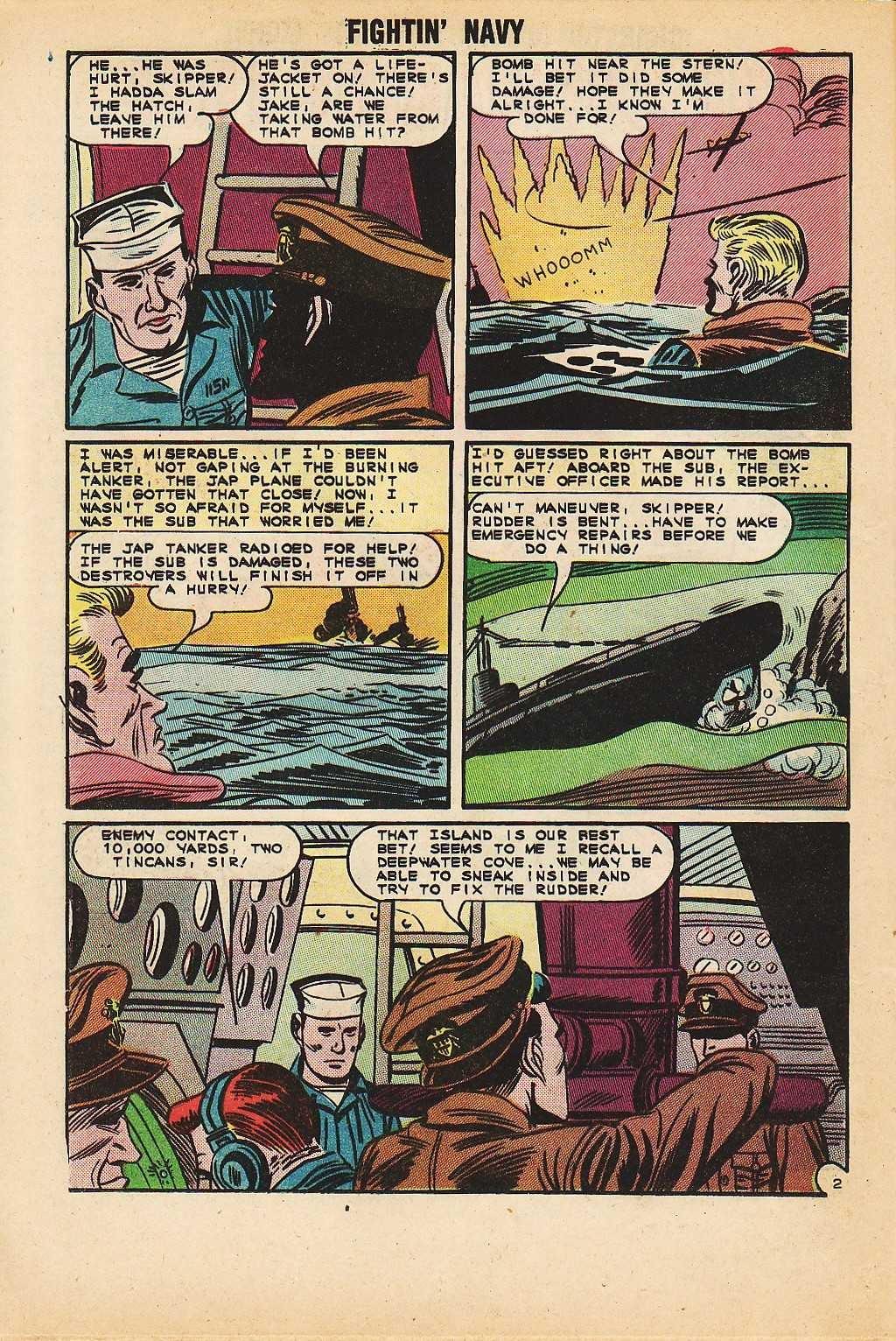 Read online Fightin' Navy comic -  Issue #116 - 20