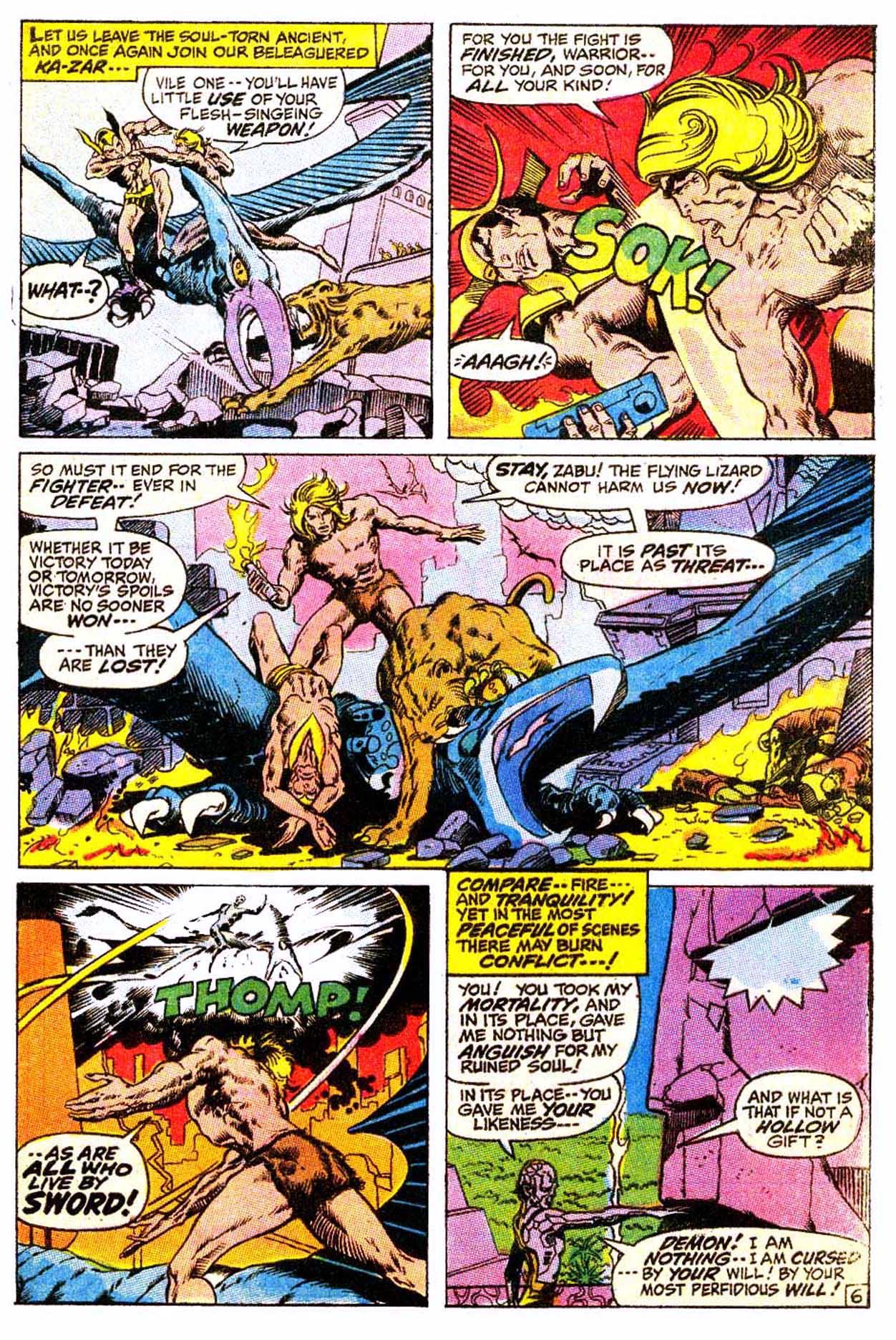Read online Astonishing Tales (1970) comic -  Issue #4 - 17